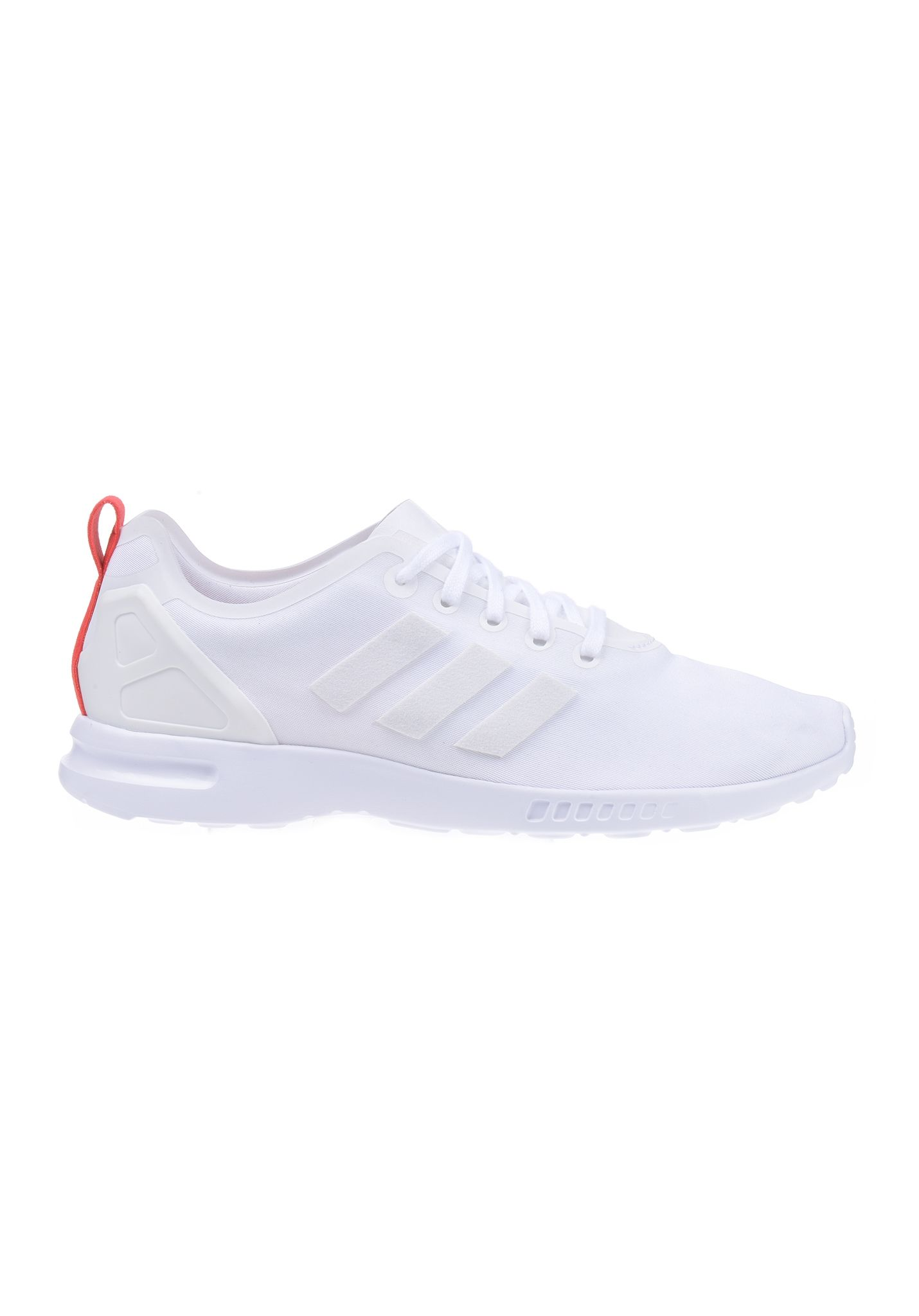 b2a7b10e8bac8 ADIDAS ZX Flux Smooth - Sneakers for Women - White - Planet Sports ...