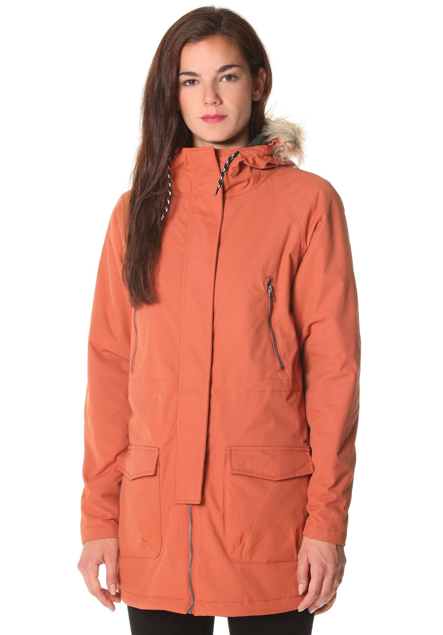NIKITA Taylor - Jacket for Women - Orange - Planet Sports
