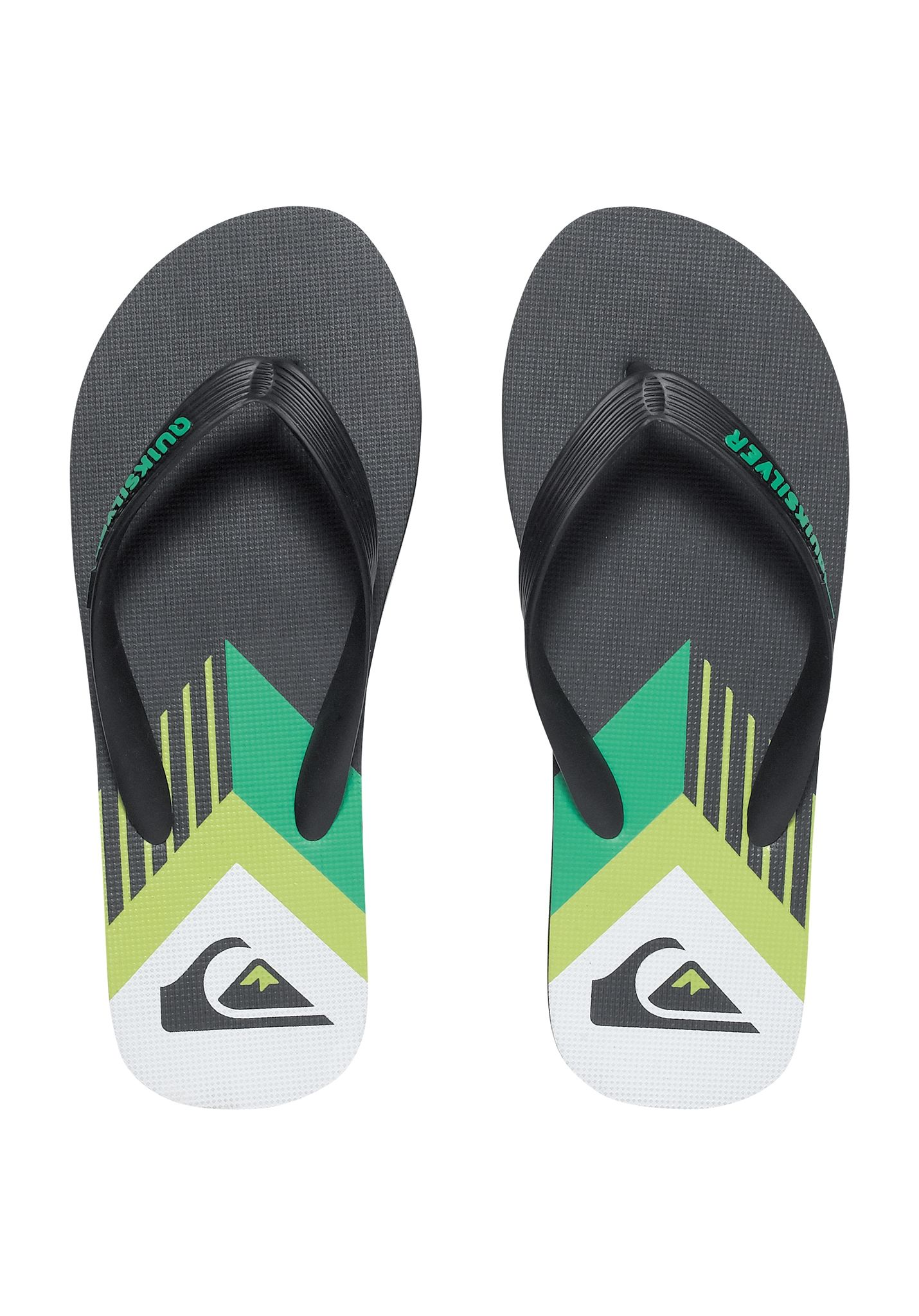 68565ccc7bf5e Quiksilver Molokai New Pan - Sandals for Men - Black - Planet Sports
