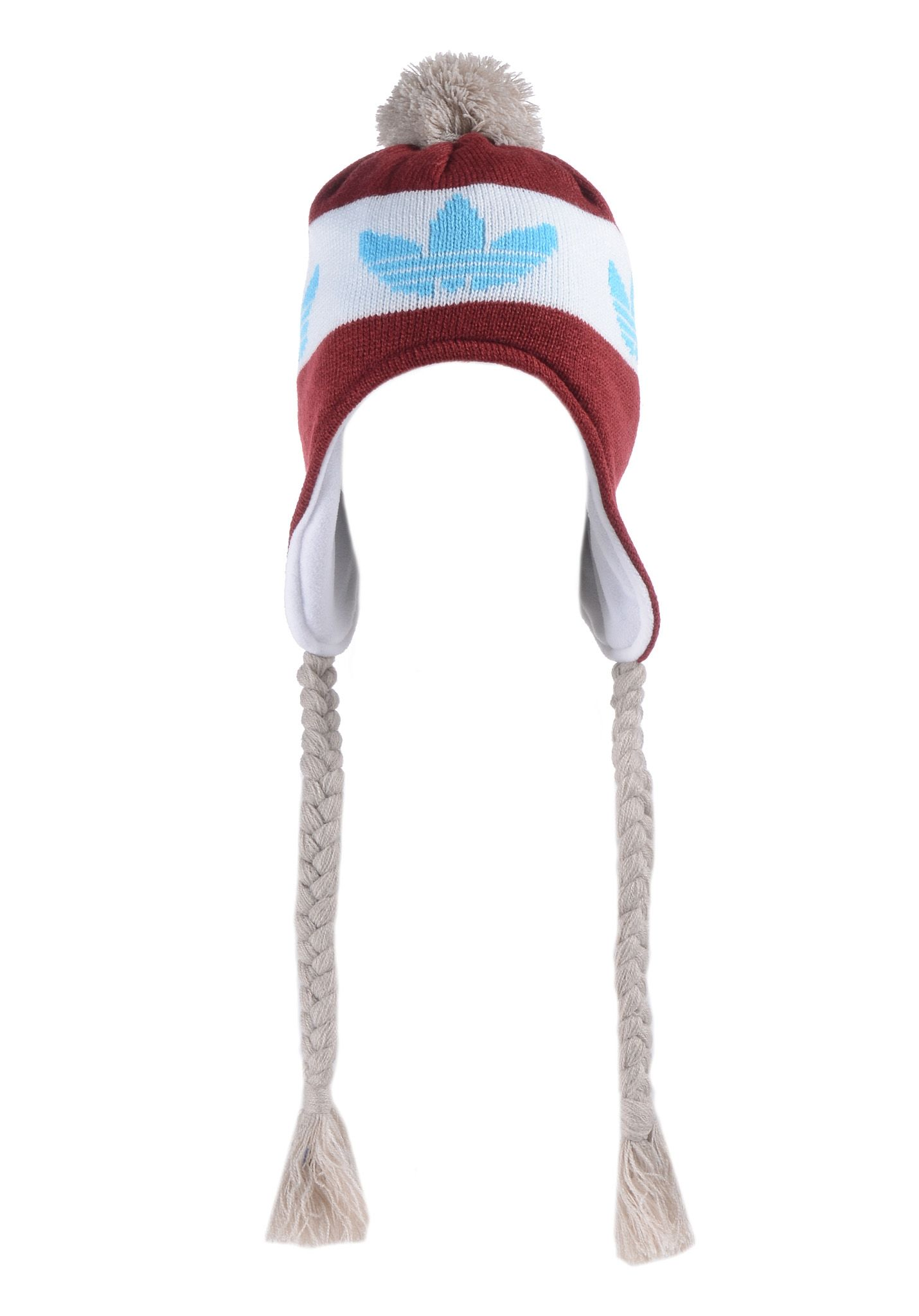 a9bfe36cad8 ADIDAS Peruvian Style - Beanie for Men - Red - Planet Sports