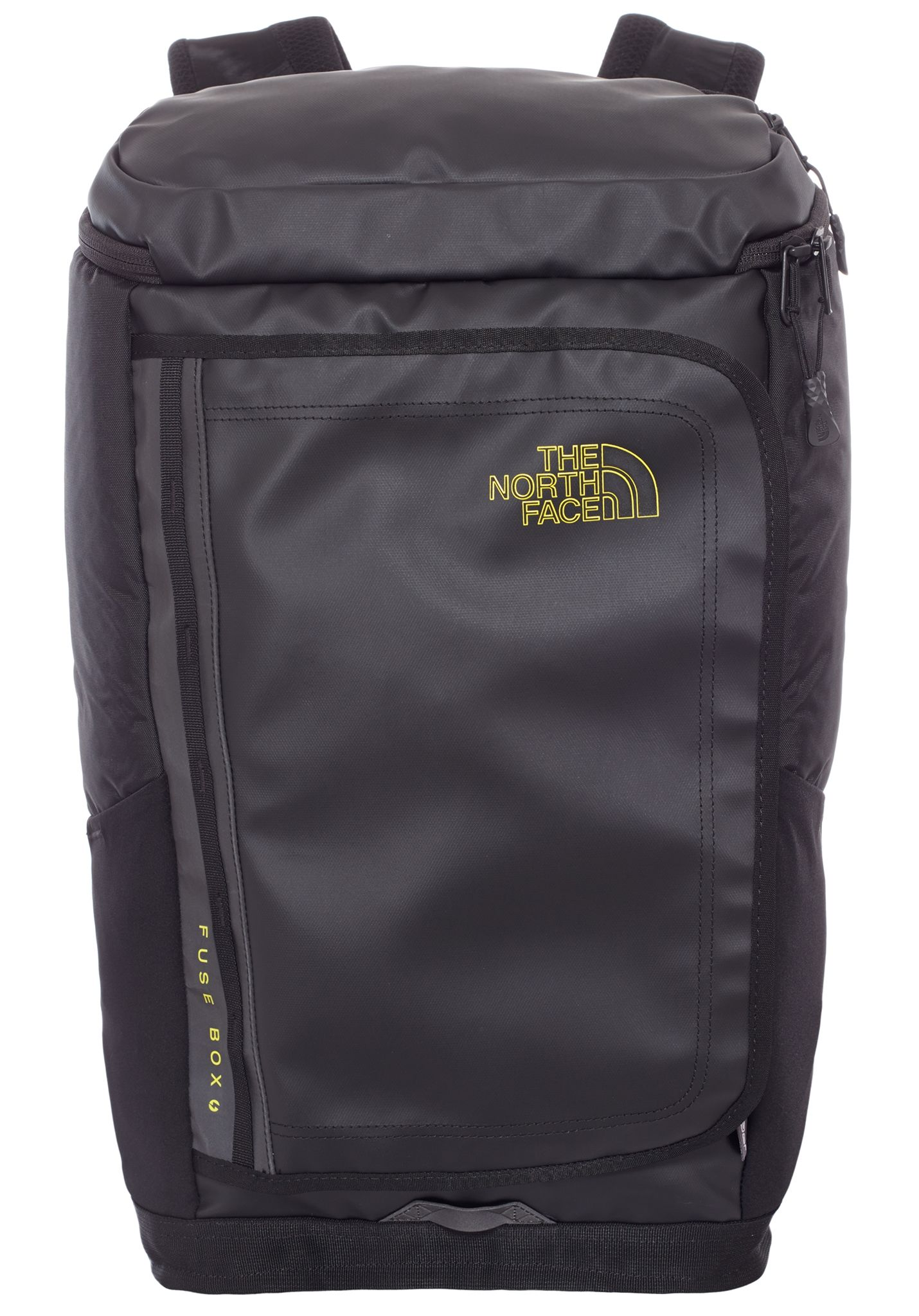 the north face fuse box charged backpack black planet sports