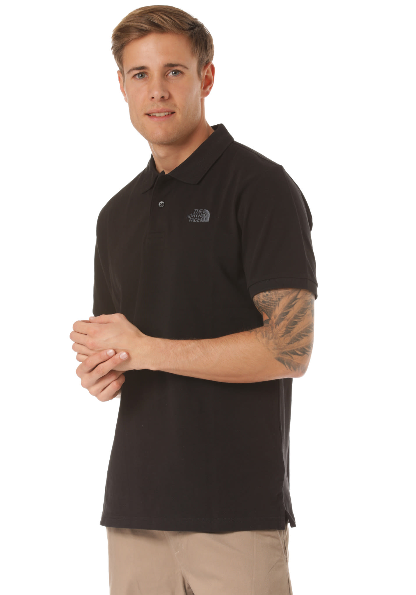 74140f862 THE NORTH FACE Piquet - Polo Shirt for Men - Black