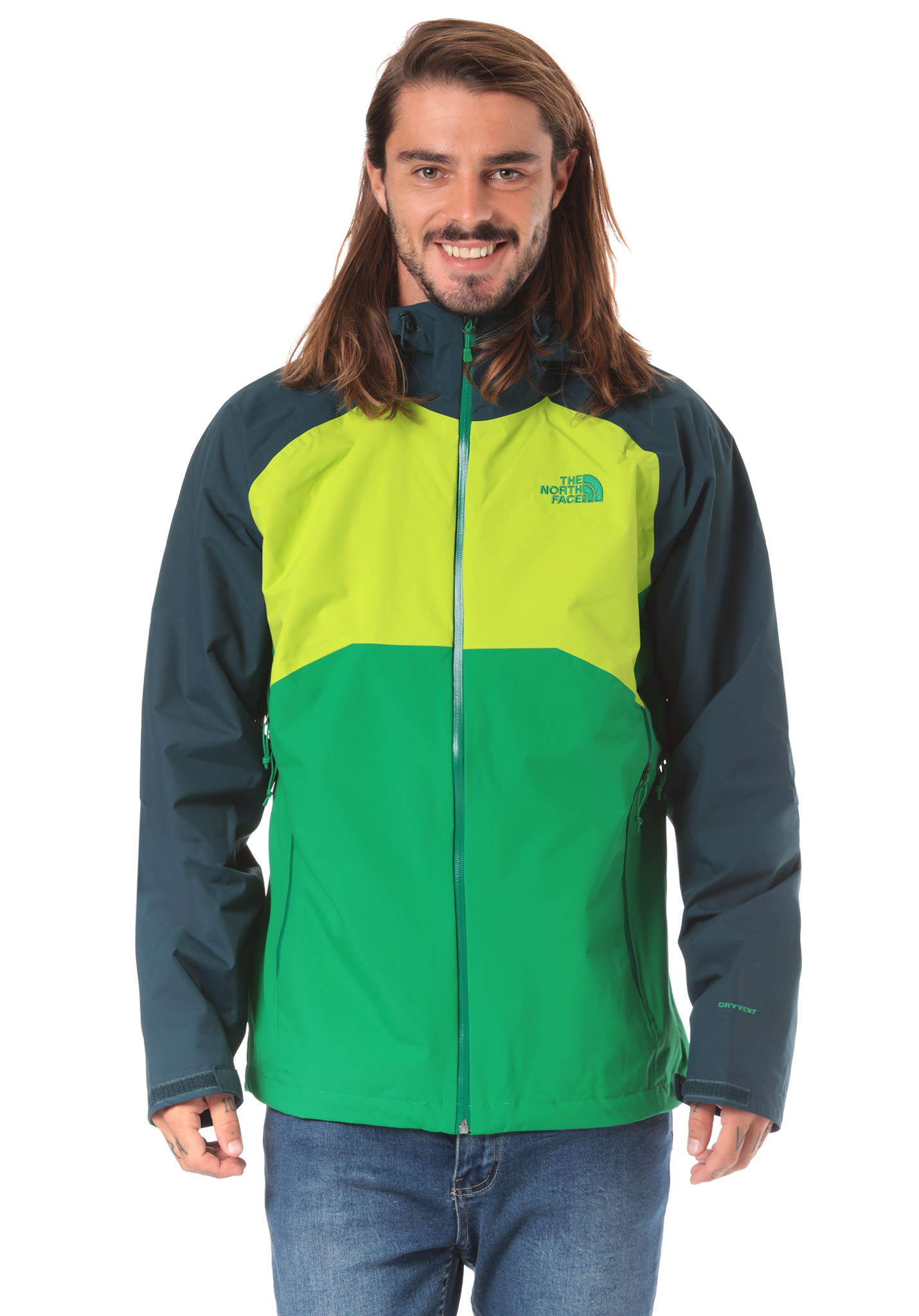 cała kolekcja najniższa cena zakupy THE NORTH FACE Stratos - Functional Jacket for Men - Green