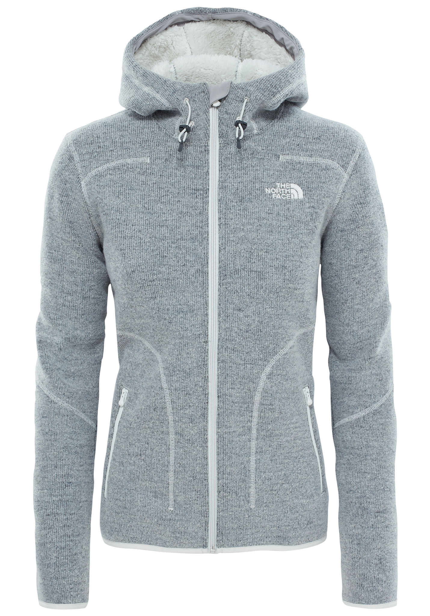 best service c10cd 5210b THE NORTH FACE Zermatt Full Zip H - Jacke für Damen - Grau