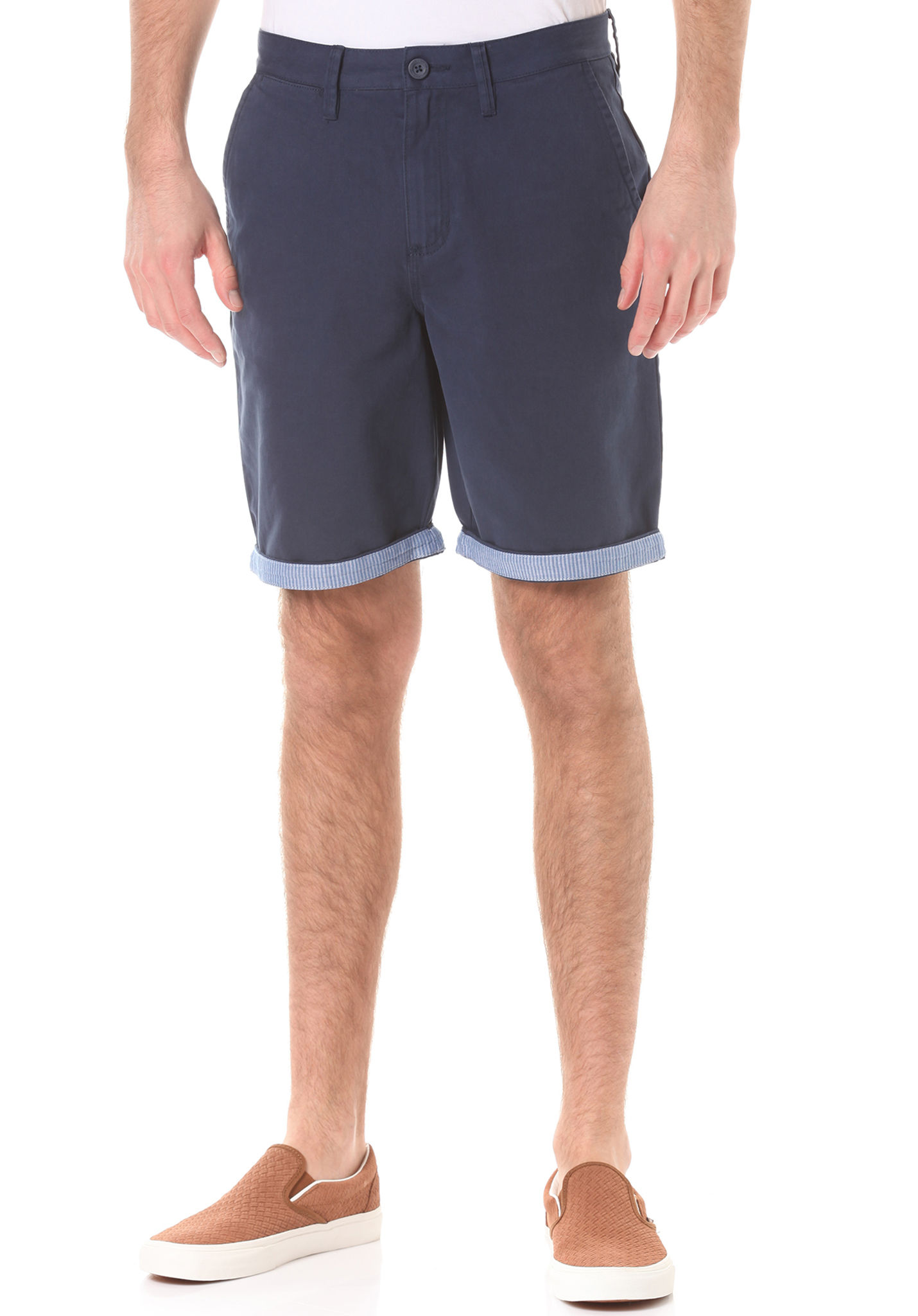 420c27e68a Vans Excerpt Cuff - Chino Shorts for Men - Blue - Planet Sports