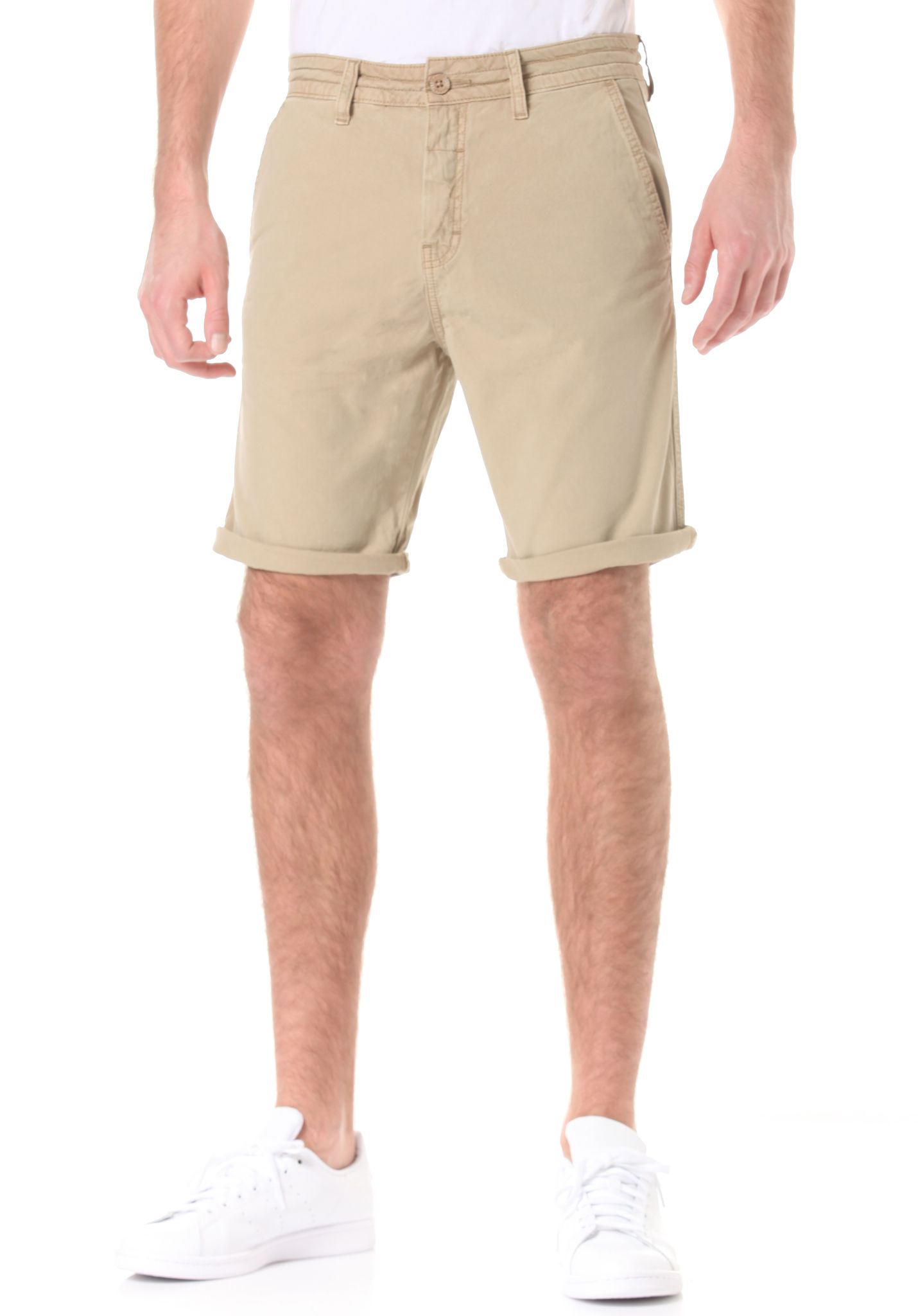 BENCH Lyrical - Chino Shorts for Men - Beige - Planet Sports
