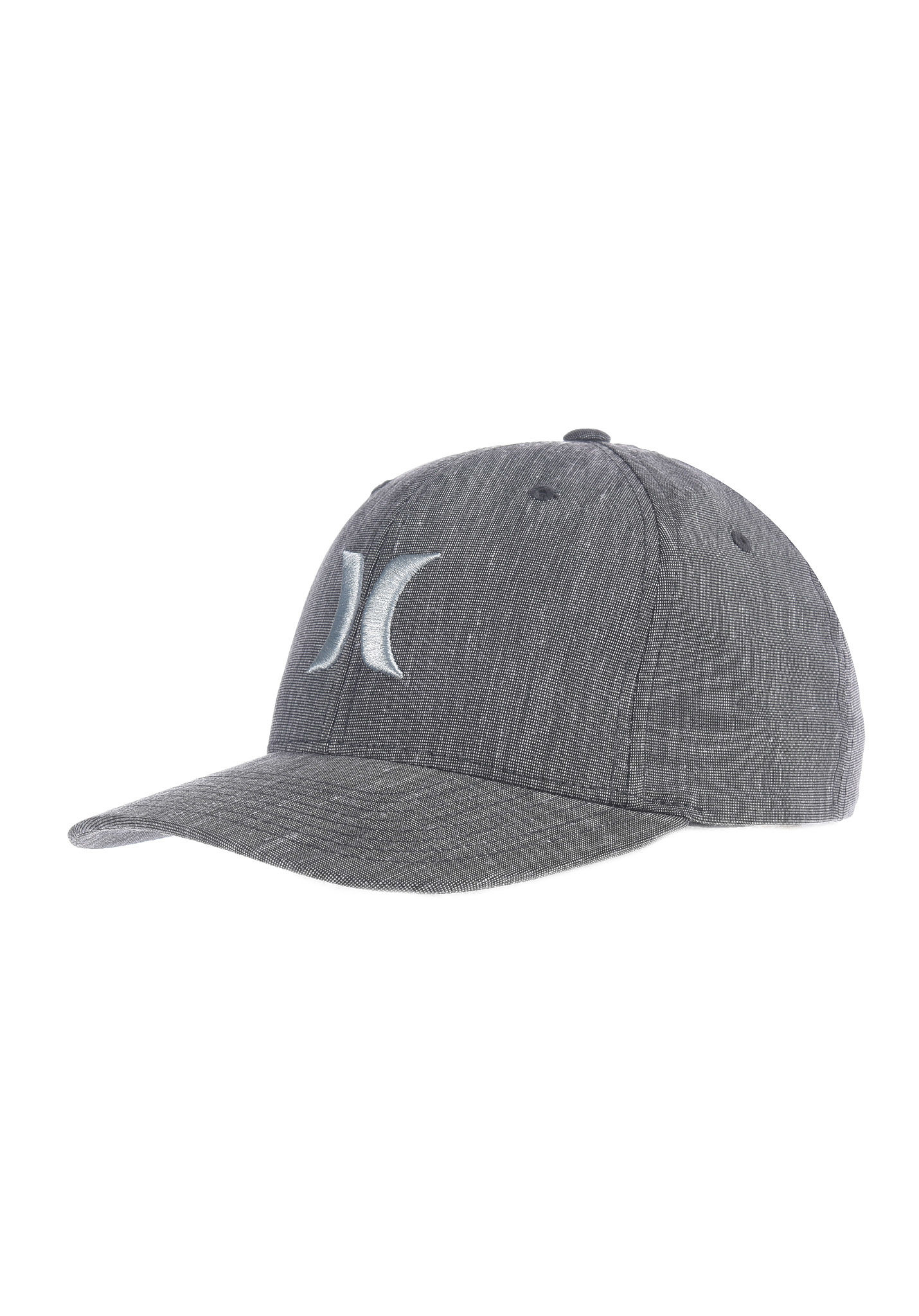 Hurley Black Suits - Flexfit Cap for Men - Grey - Planet Sports 2b01e021219b