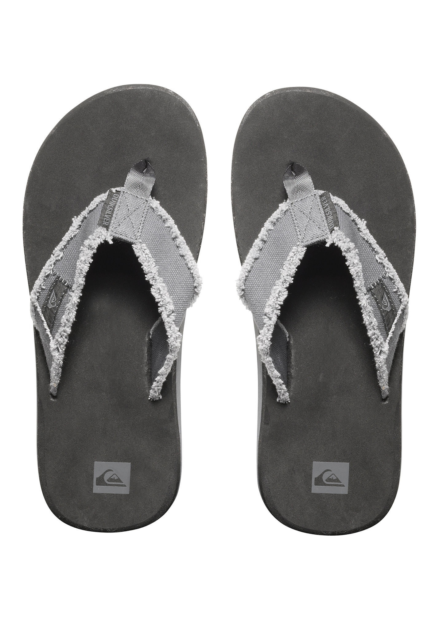 00e9e3fe6dc8 Quiksilver Monkey Abyss - Sandals for Men - Grey - Planet Sports