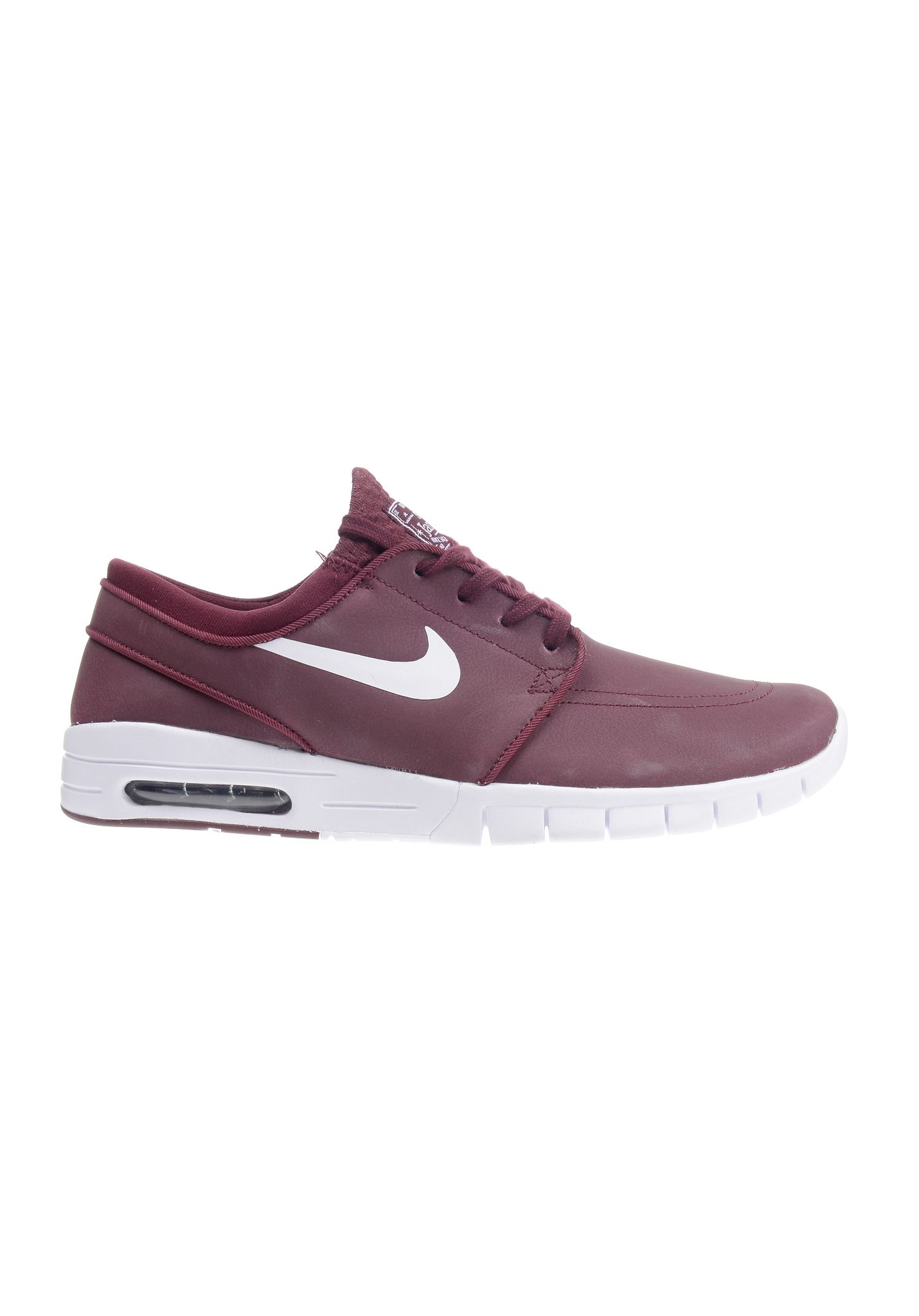 new arrivals d631a 82b85 NIKE SB Stefan Janoski Max L - Sneakers for Men - Red - Planet Sports