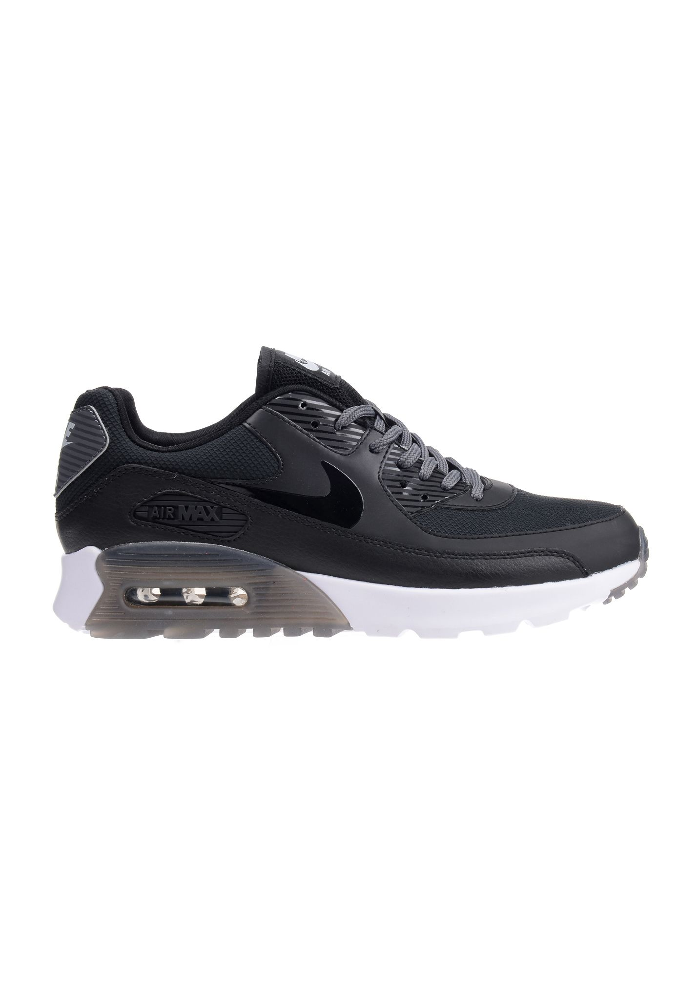 nike air max 90 essential in sport grey  black  white