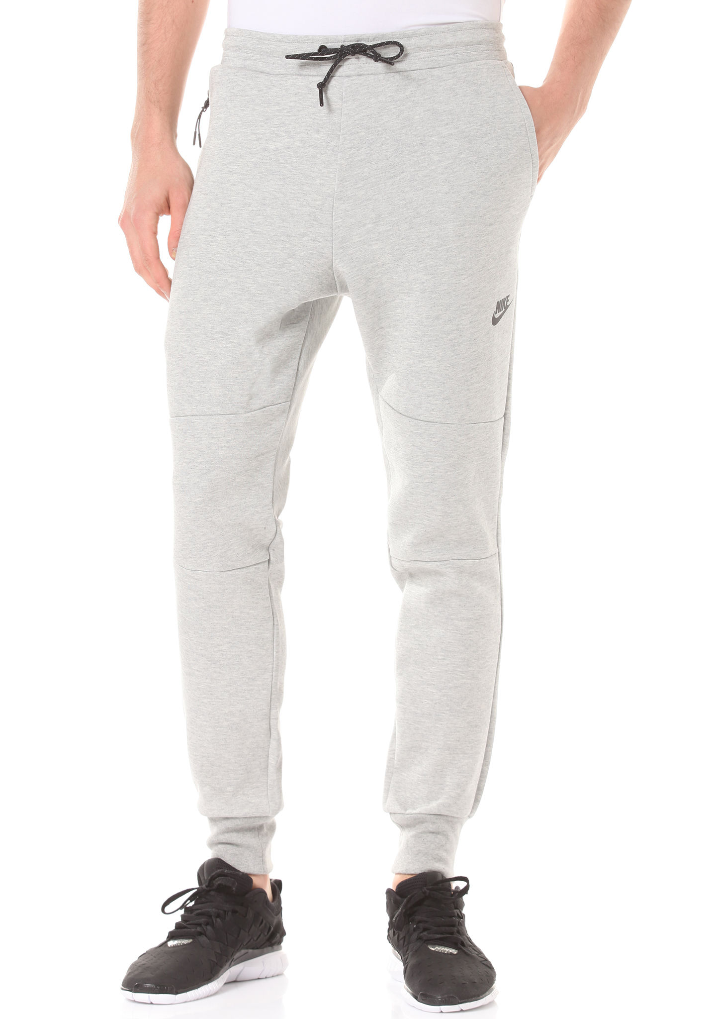 a3f50174343b35 nike sportswear tech fleece – trainingshose für herren – grau. Download  Image 1430 X 2048