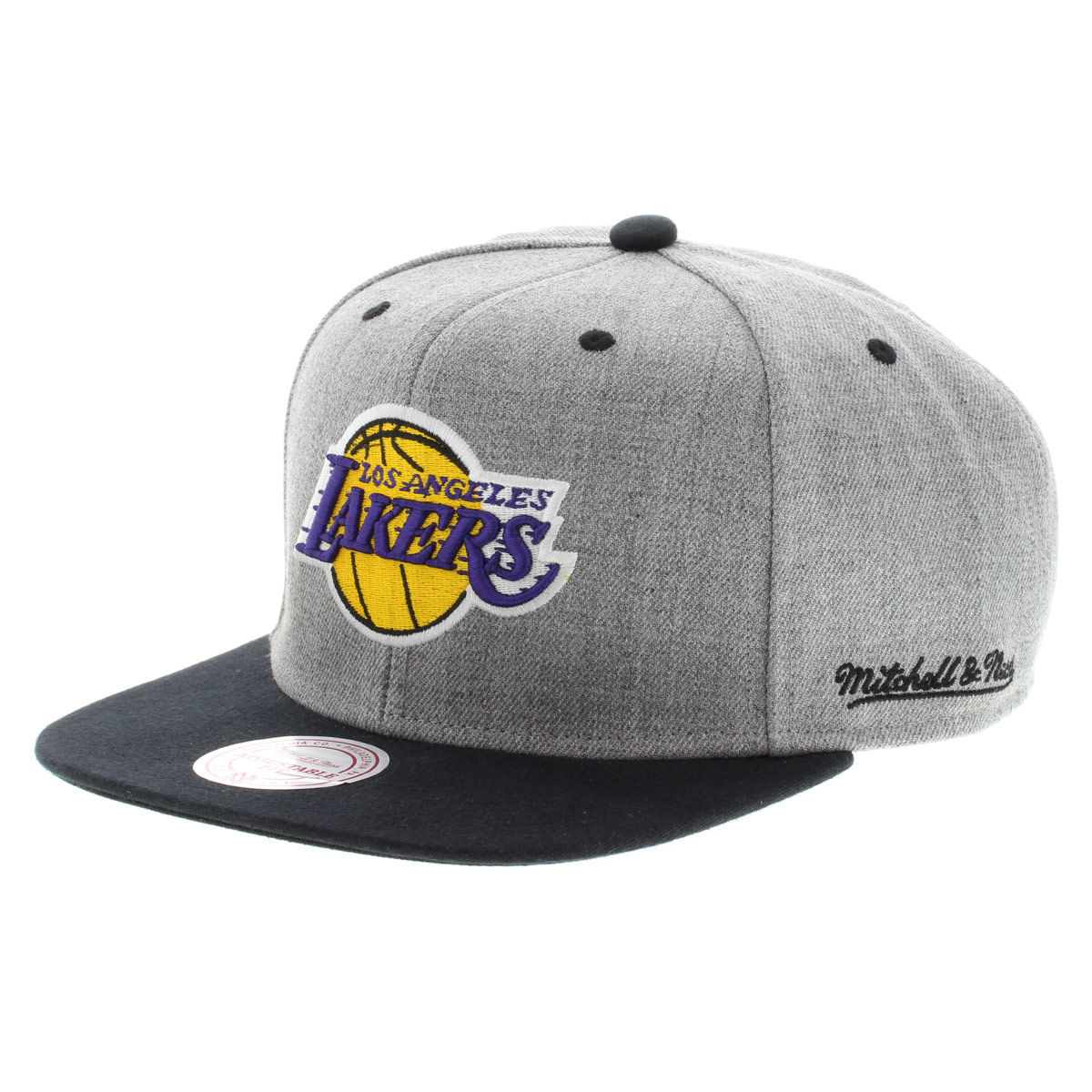 Mitchell   Ness Backboard LA Lakers - Gorra snapback - Gris - Planet Sports c524424e477