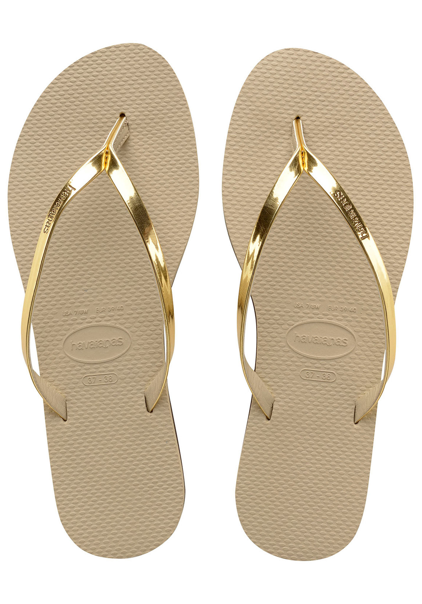 4d1c0032c3ee40 HAVAIANAS You Metallic - Sandals for Women - Gold - Planet Sports