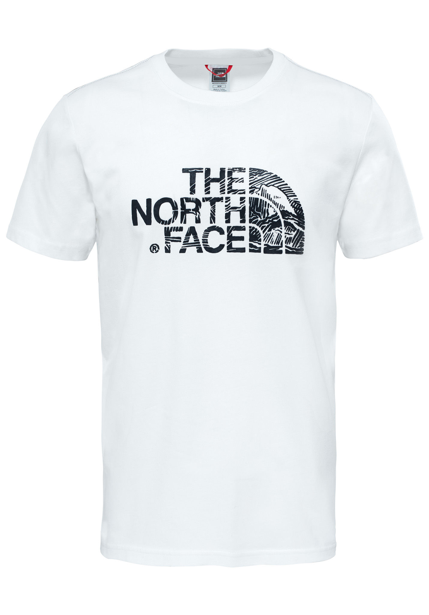 cb72820f1 THE NORTH FACE Woodcut Dome - T-Shirt for Men - White