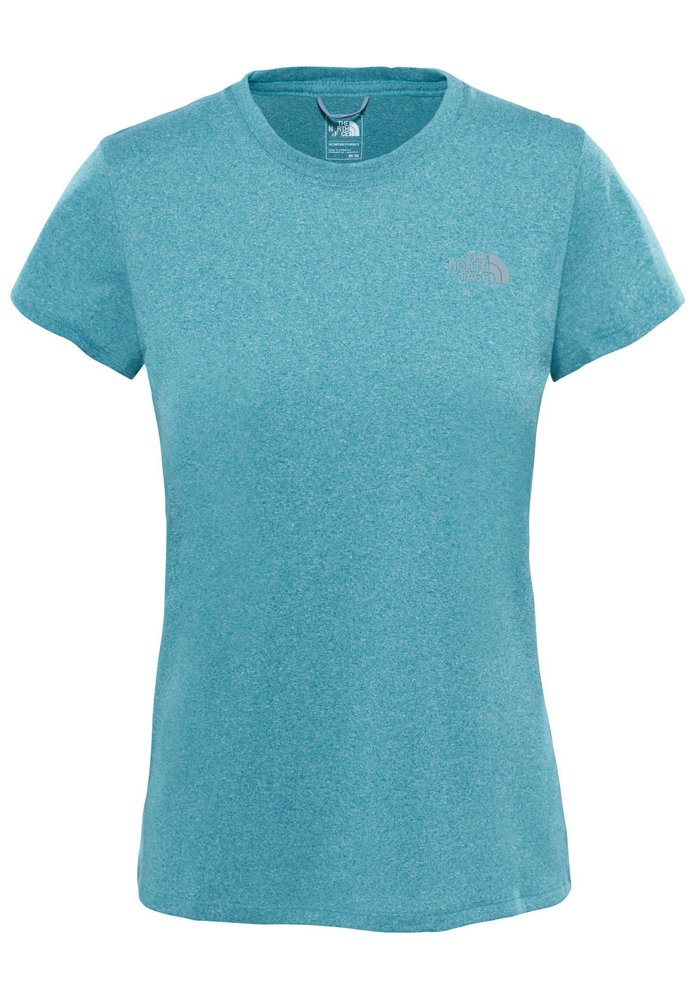 63404eb8ff39 THE NORTH FACE Reaxion Amp Crew - T-Shirt for Women - Blue - Planet Sports