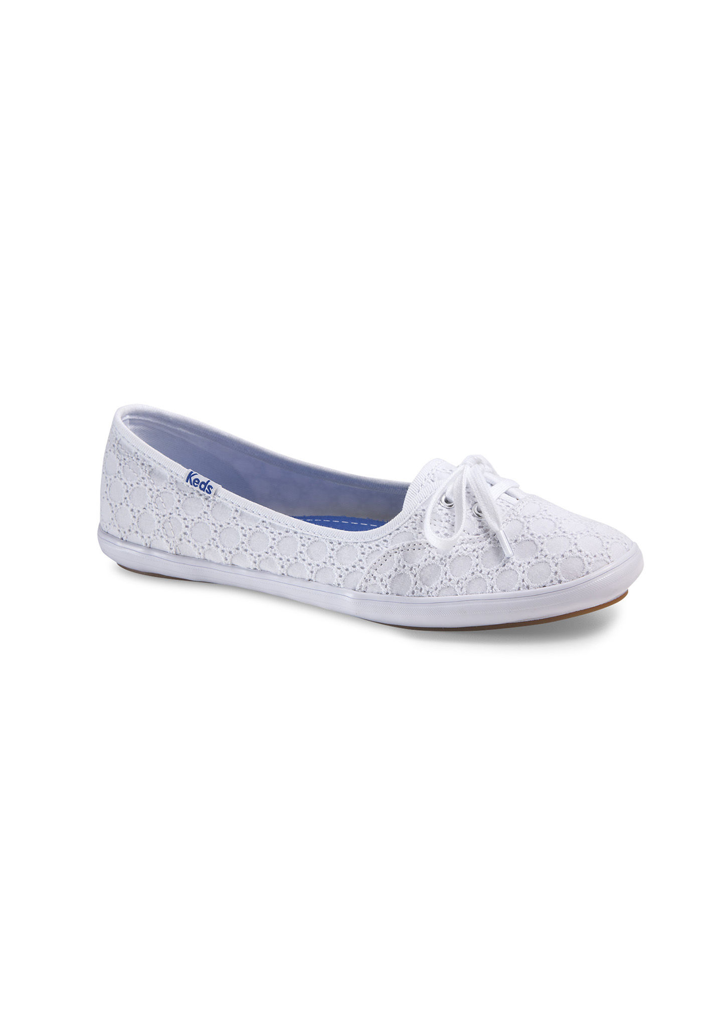Sweetheart Keds Teacup Women's Boat Shoes White