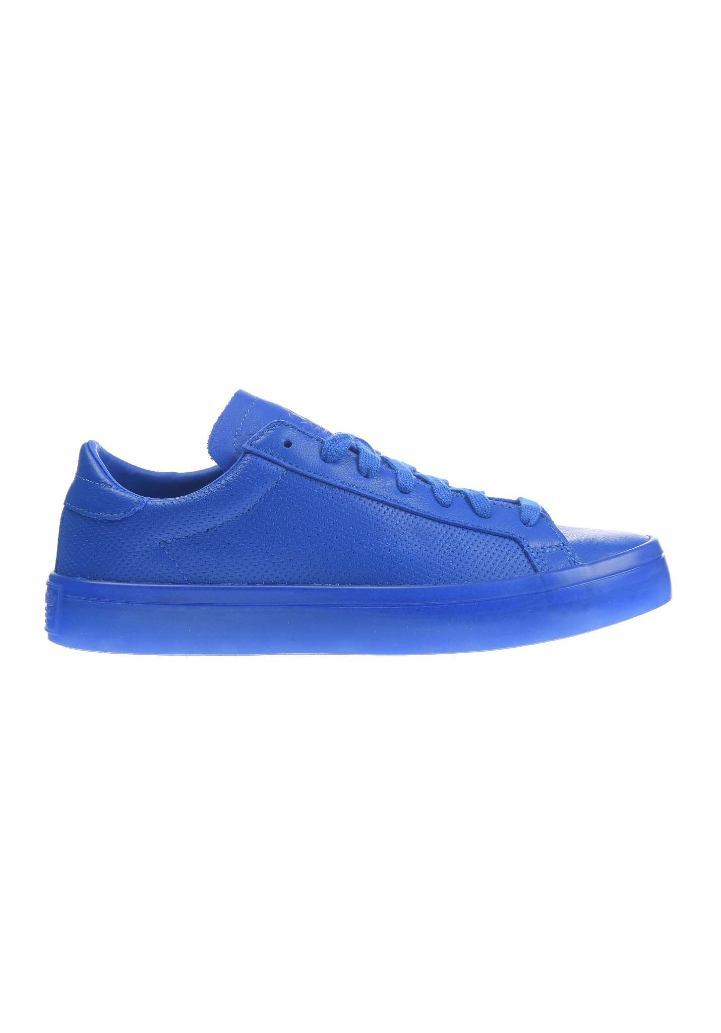 adidas court vantage donna bianche adidas court vantage adicolor sneaker  donne blu 129a2aa3678