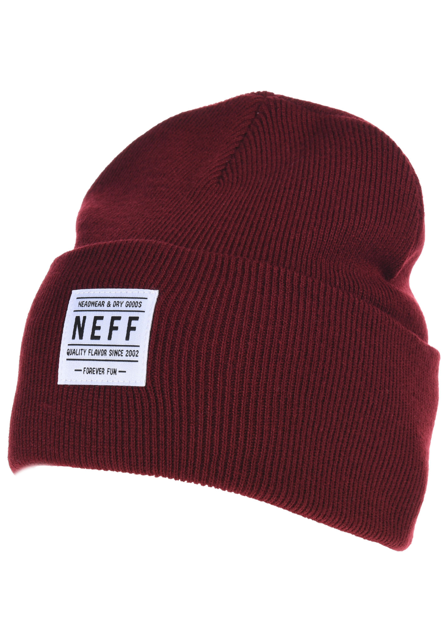 NEFF Lawrence - Beanie - Red - Planet Sports 23408c39ccc
