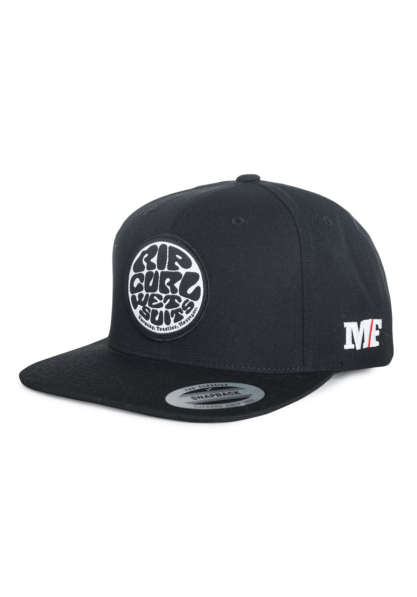 Rip Curl Mf Wetty Snap Back - Cap for Men - Black - Planet Sports bbe418764f4