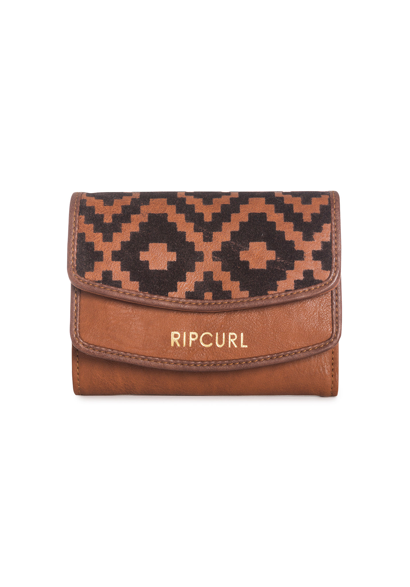 Rip Curl Portemonnee.Rip Curl Valdivia Wallet For Women Brown Planet Sports