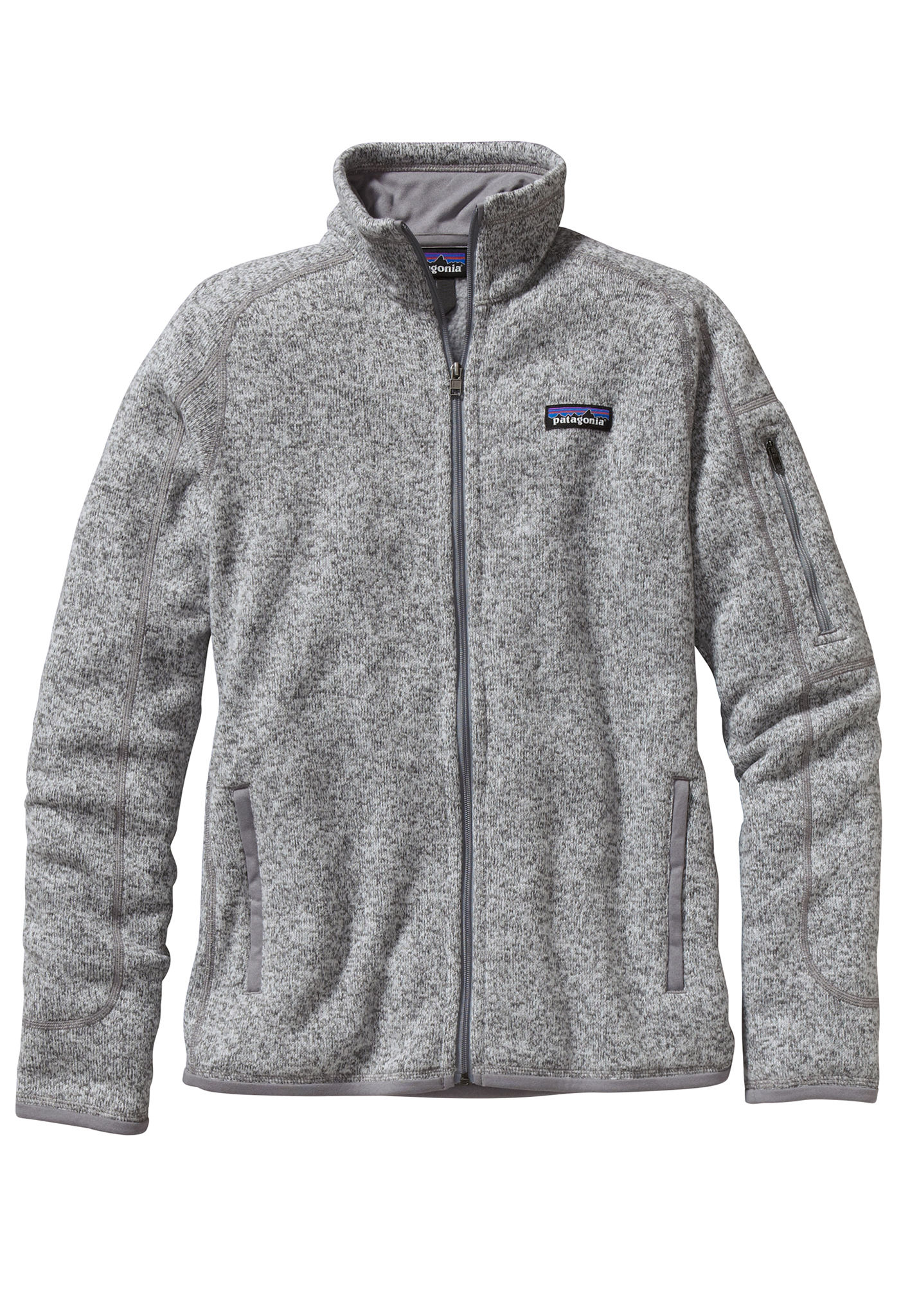 newest collection 19876 d57dc PATAGONIA Better - Fleece Jacket for Women - Grey