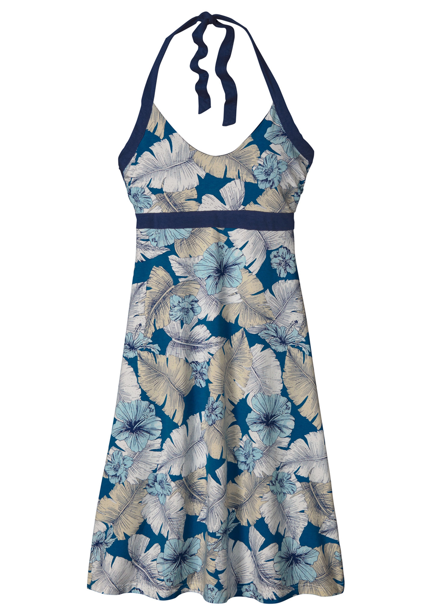 Patagonia Iliana Halter - Kleid für Damen - Blau - Planet Sports