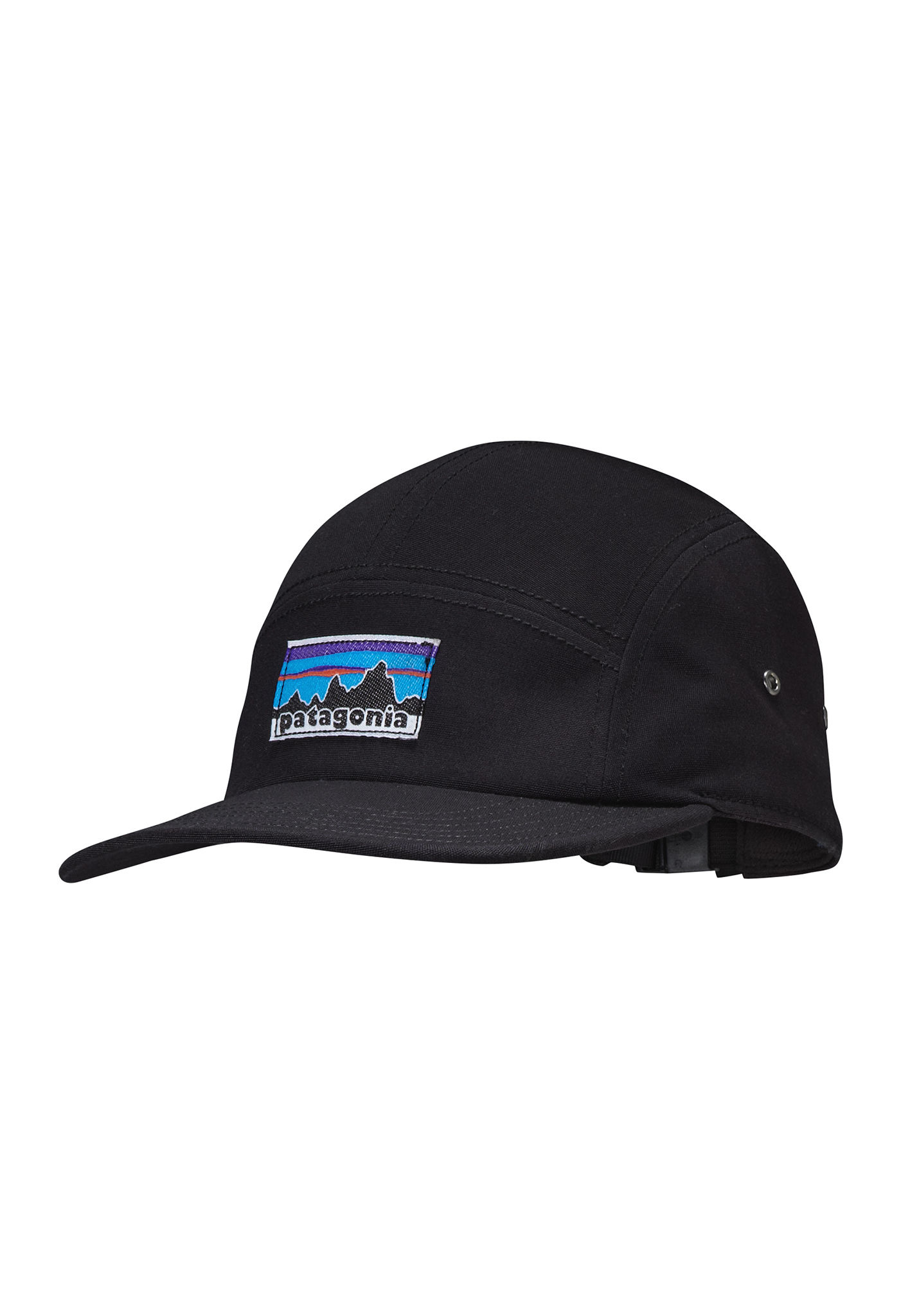 PATAGONIA Retro Fitz Roy Label Tradesmith - Trucker Cap - Black - Planet  Sports 46c95596d36