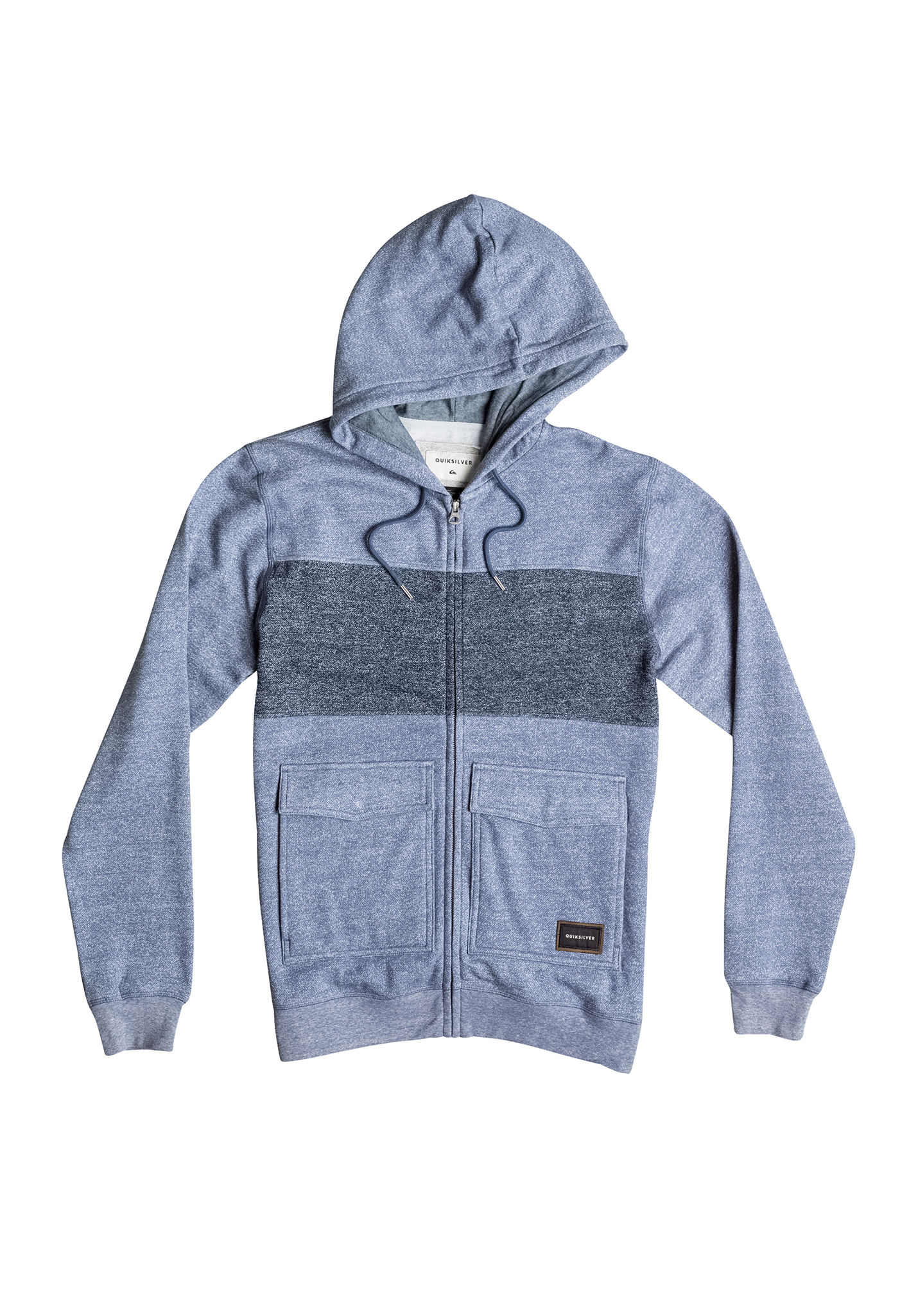 Quiksilver Dark Voice - Hooded Jacket for Men - Blue - Planet Sports 7e9755e0ce4