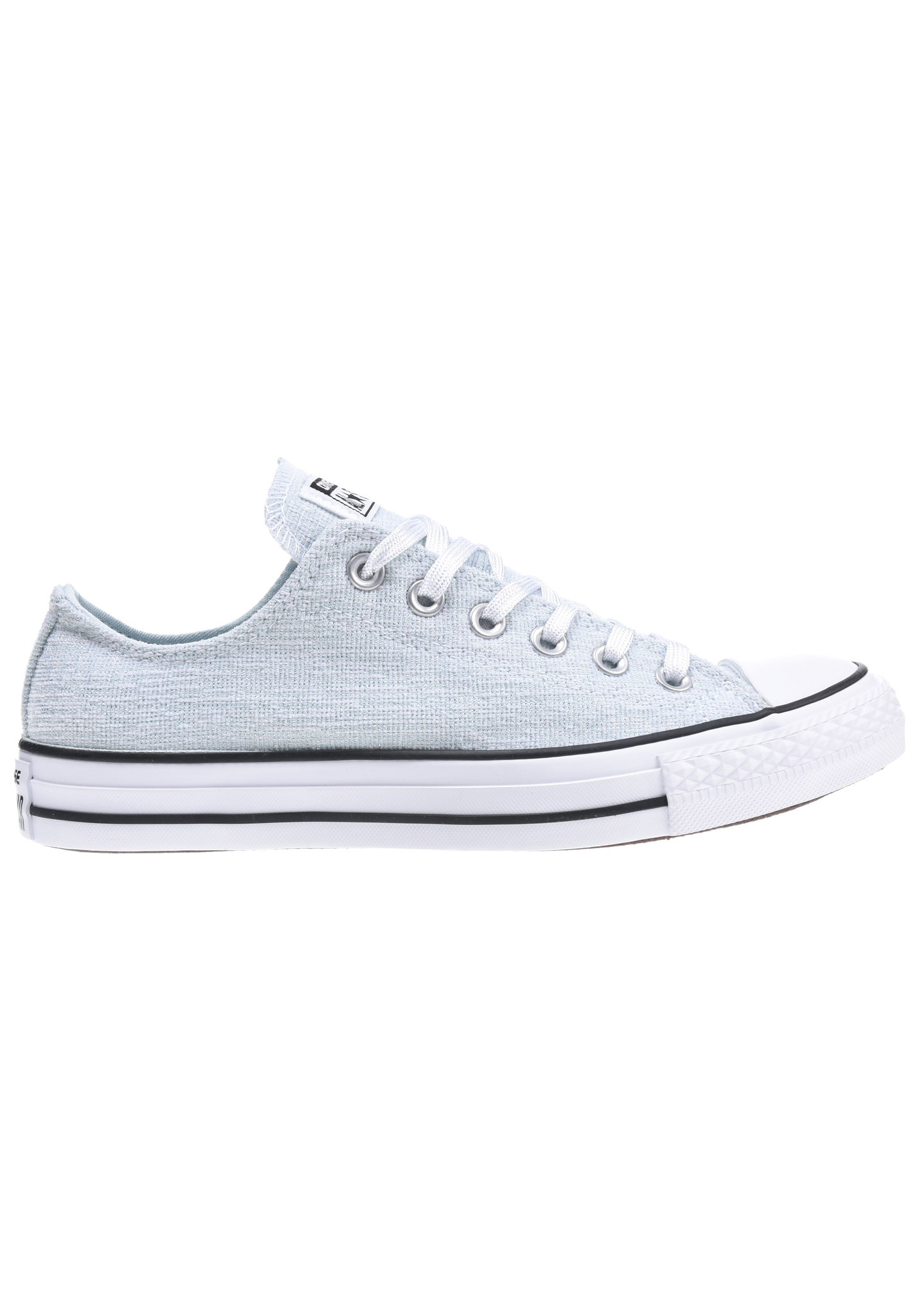8df0b0197b0748 Converse Chuck Taylor All Star Sparkle Knit Ox - Sneakers for Women - Blue  - Planet Sports