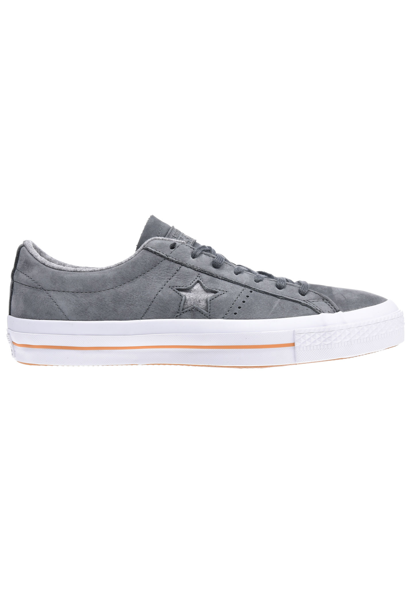 7af0a0087ed186 Converse One Star Nubuck Ox - Sneakers - Grey - Planet Sports