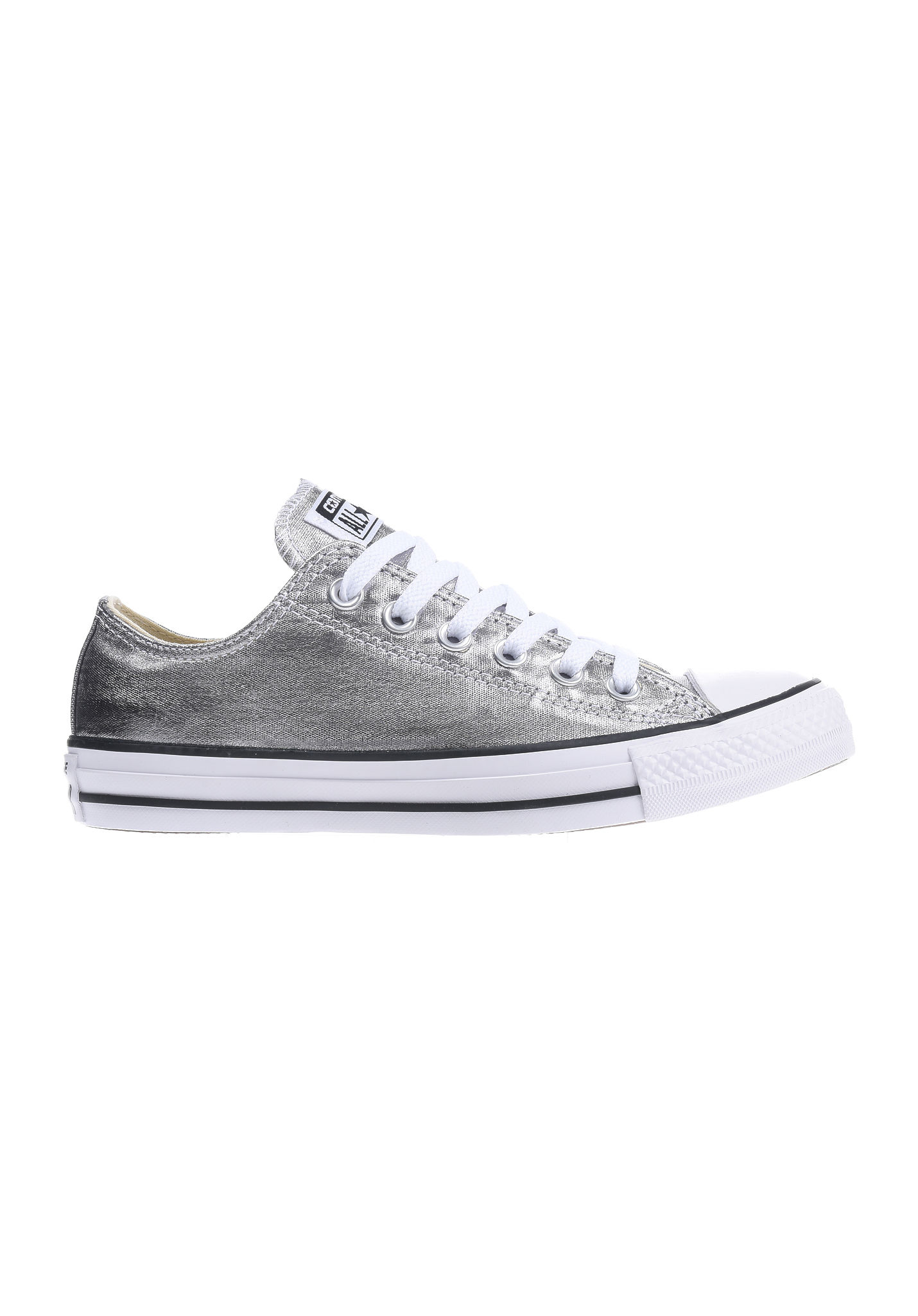 0a3d25ced03 Converse Chuck Taylor All Star Ox - Sneakers voor Dames - Zilver - Planet  Sports