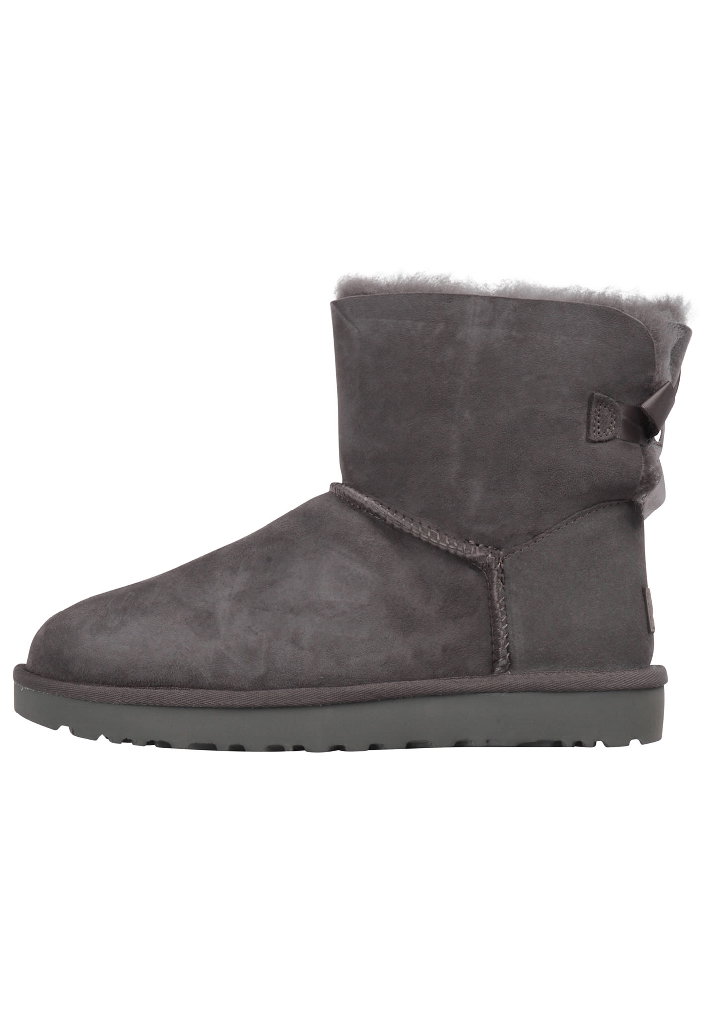 e1165049b83 UGG Mini Bailey Bow II - Boots for Women - Grey