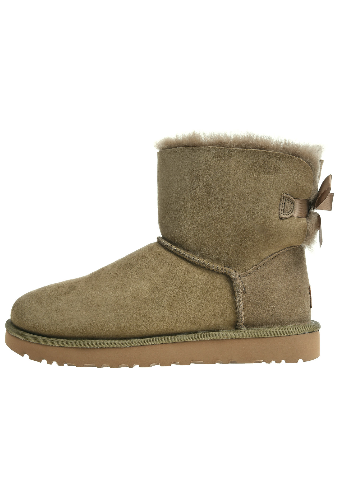 7be8872a437 UGG Mini Bailey Bow II - Boots for Women - Brown