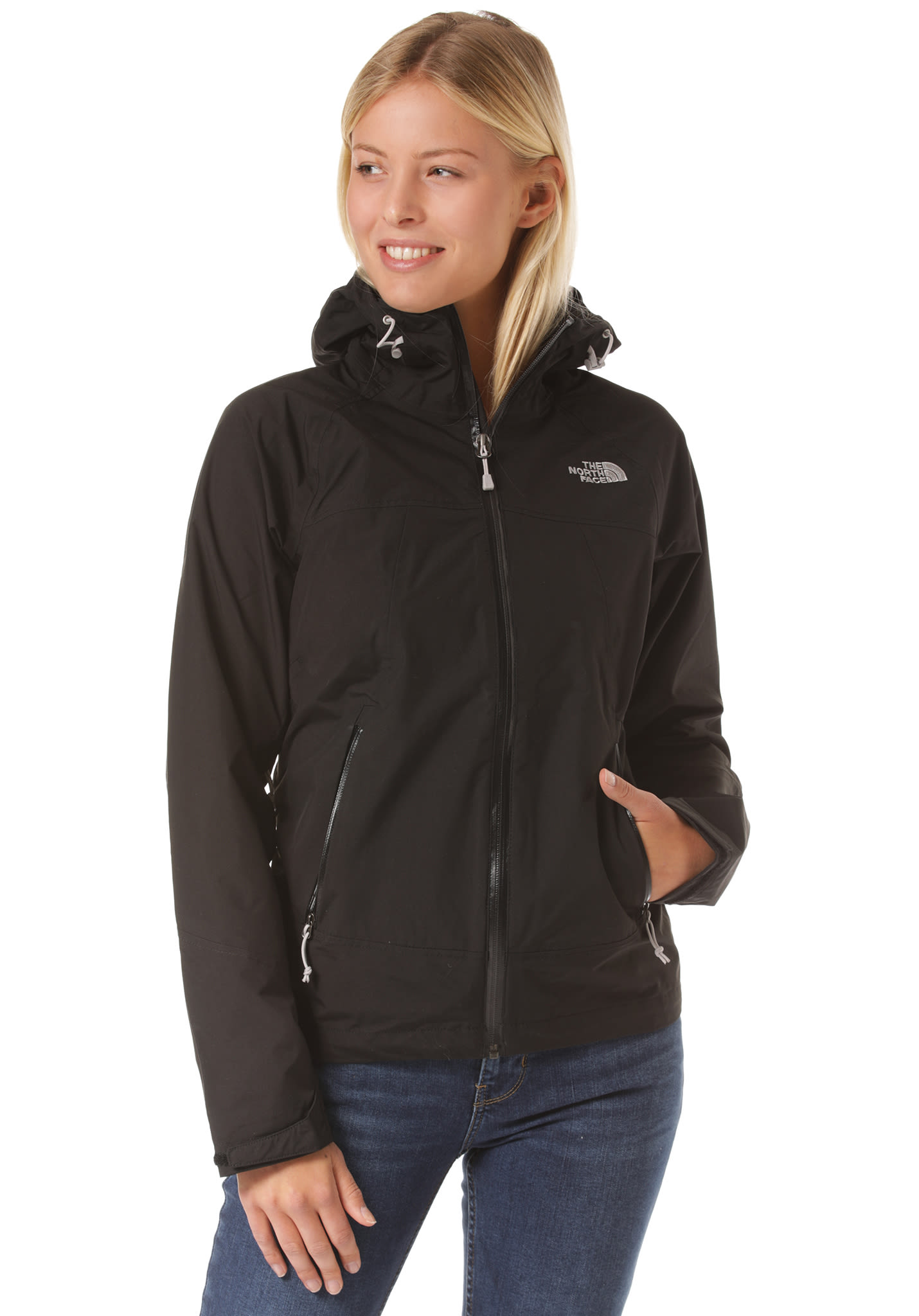 eb4b2442428b THE NORTH FACE Stratos - Functional Jacket for Women - Black - Planet Sports
