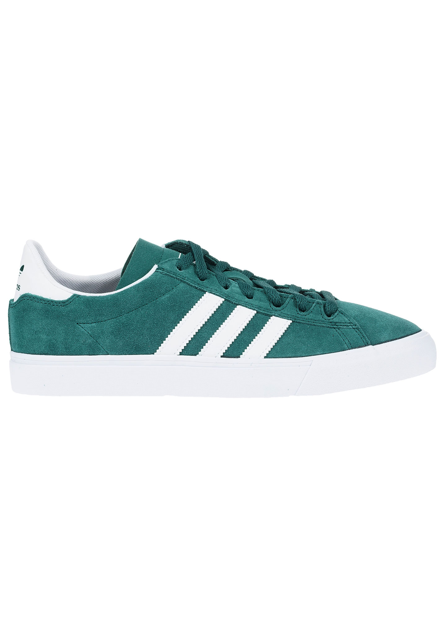 save off 1aa37 9f6bc Adidas Skateboarding Campus Vulc II ADV - Sneaker per Uomo - Verde - Planet  Sports