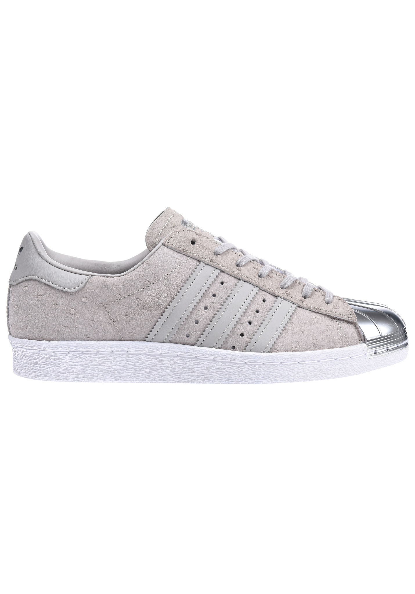 ADIDAS Superstar 80s Metal - Sneakers for Women - Grey - Planet Sports 42c78e35c193