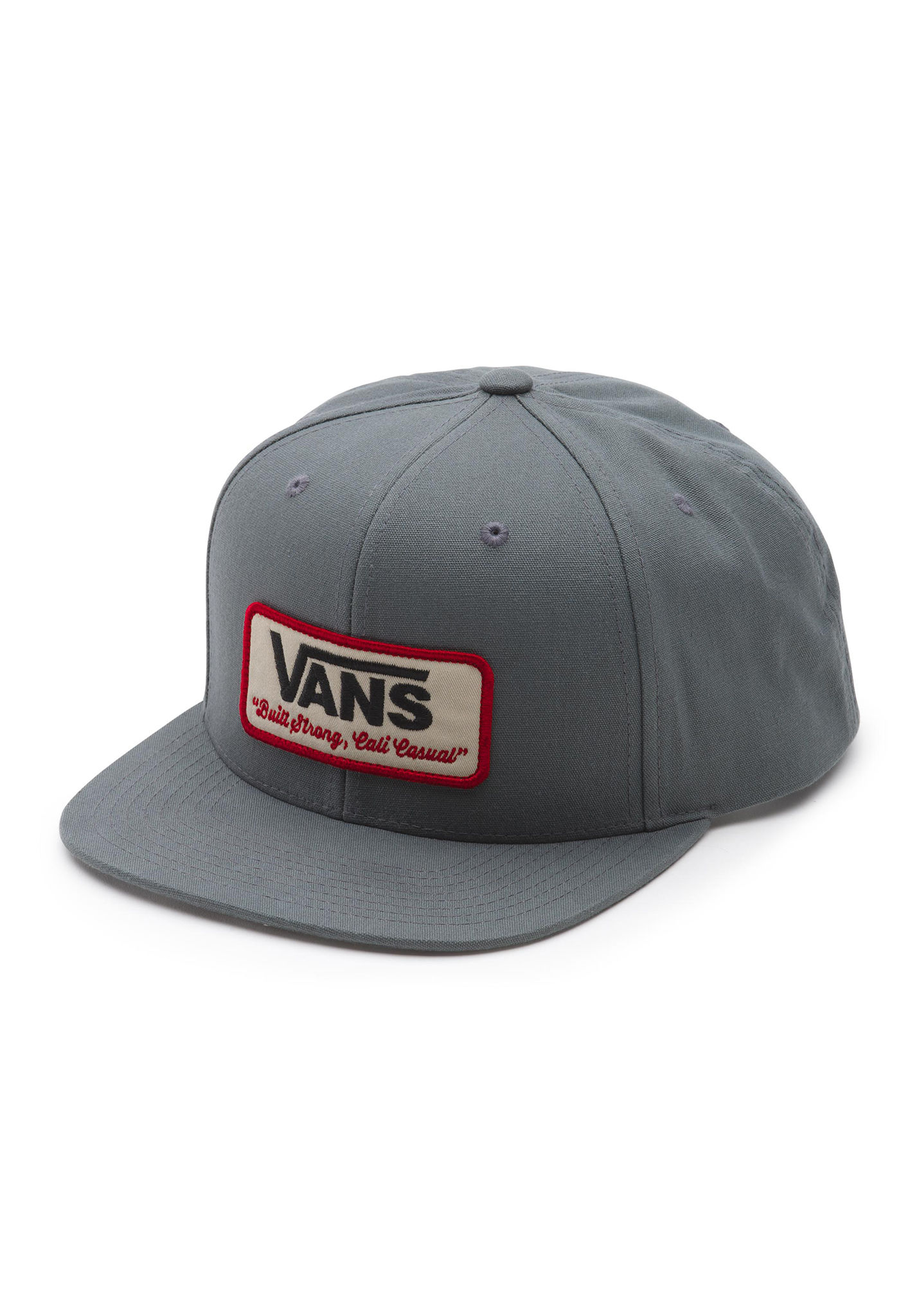 Vans Rowley Snapback - Snapback Cap for Men - Grey - Planet Sports 9a63bdc2b03
