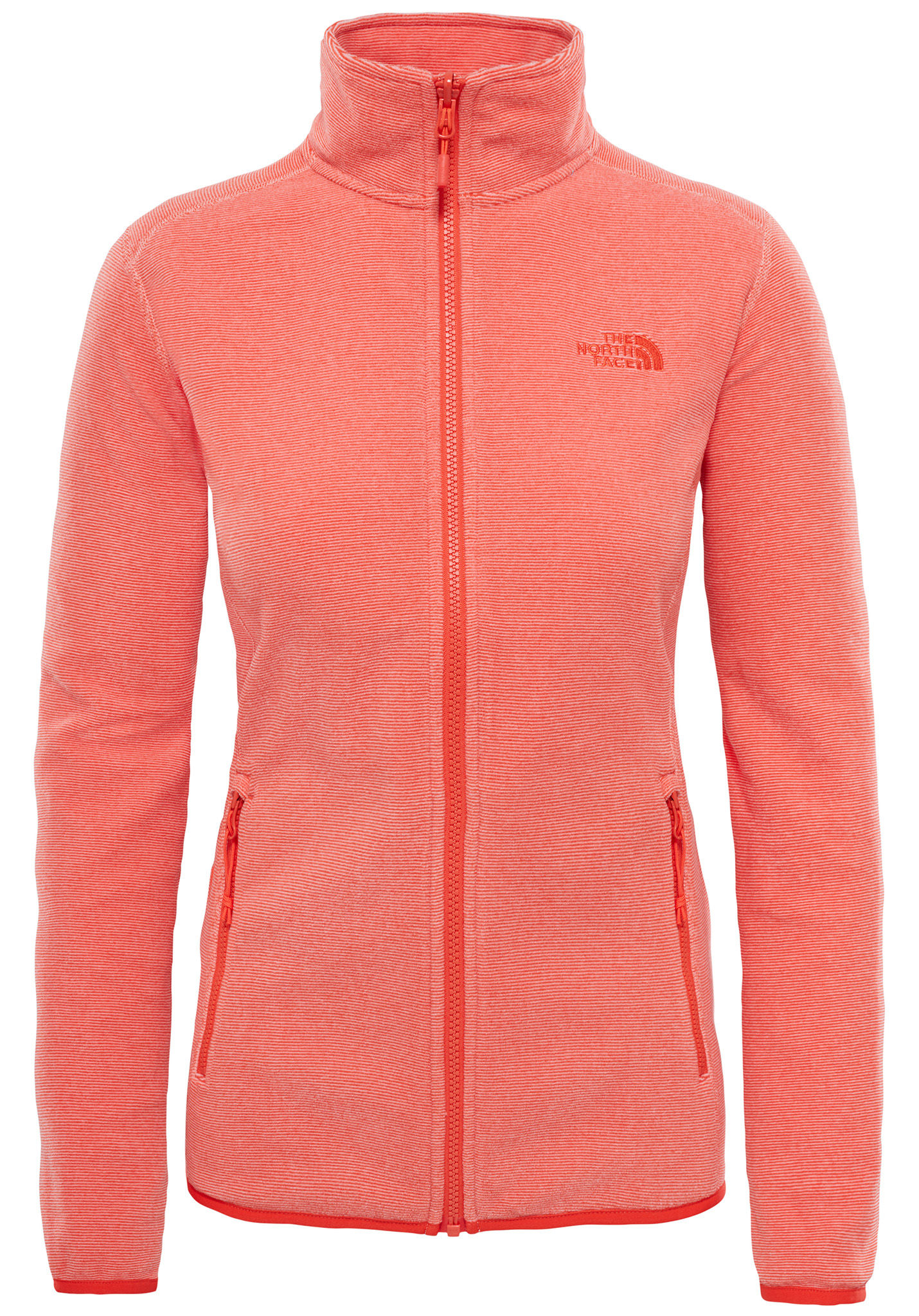 5091e33a80 THE NORTH FACE 100 Glacier - Veste polaire pour Femme - Orange - Planet  Sports