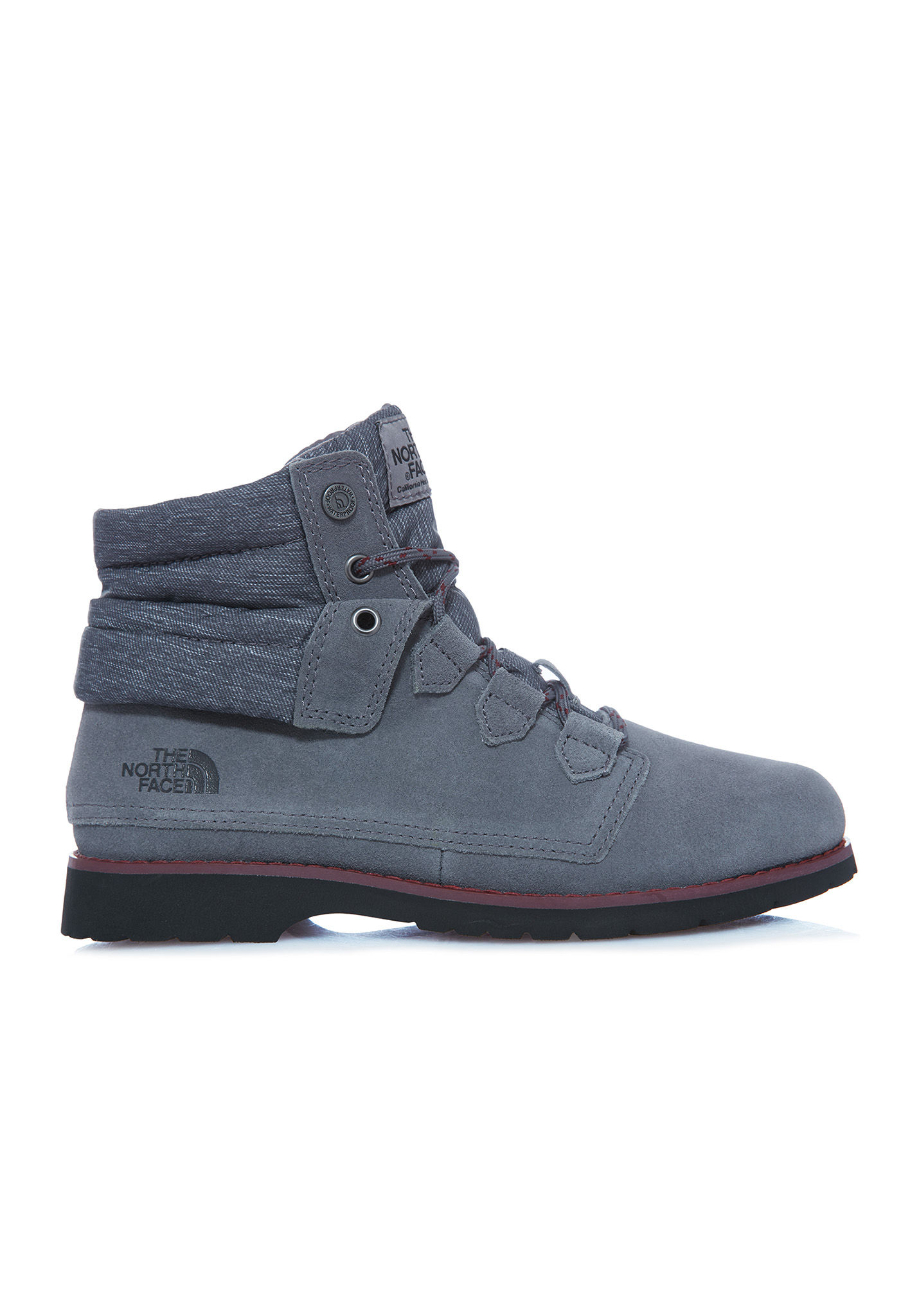Womens W Ballard Roll-Down Se High-Top Sneakers The North Face