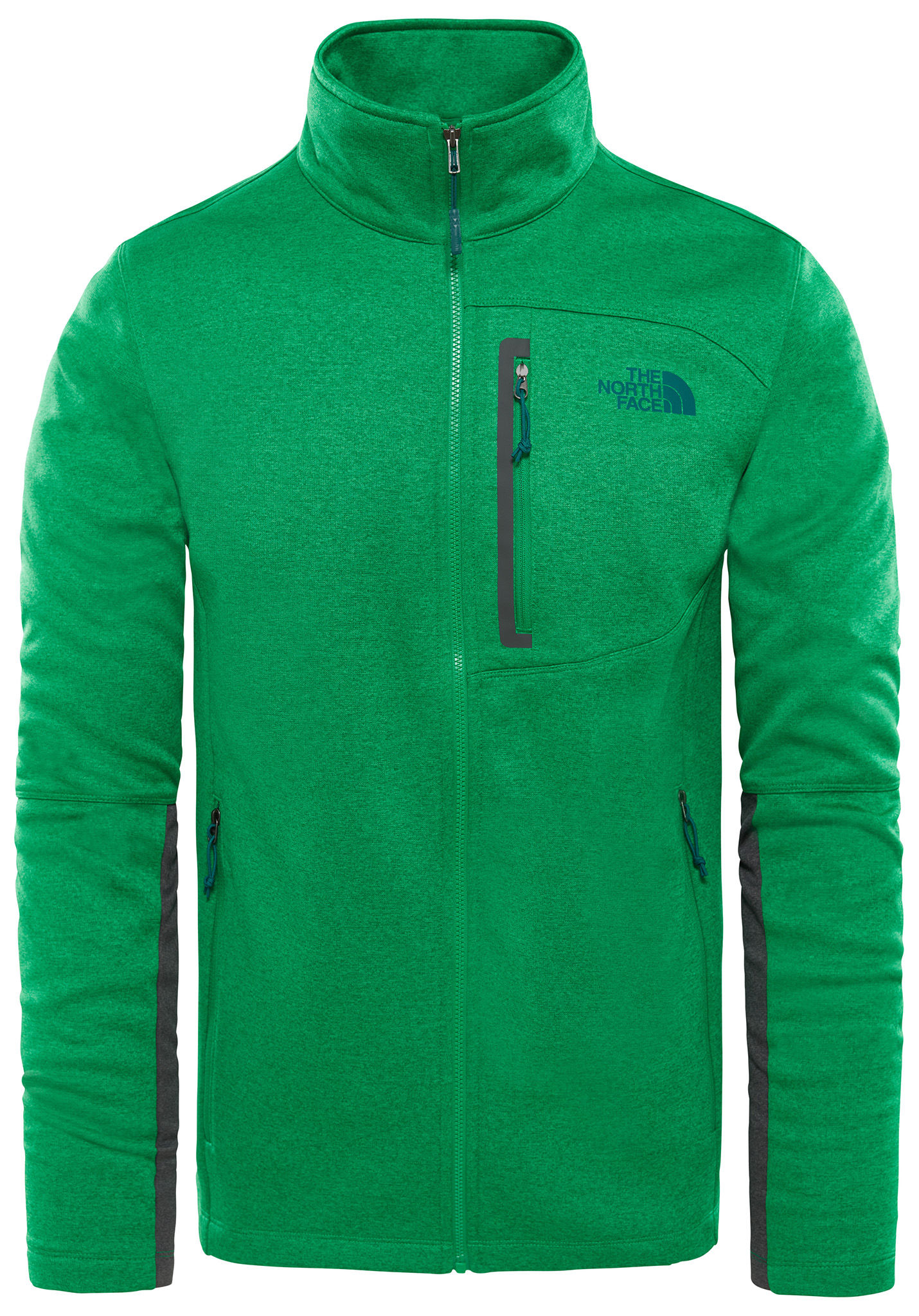 THE NORTH FACE Canyonlands Full - Giacca di pile per Uomo - Verde - Planet  Sports a89f2b0eb50b