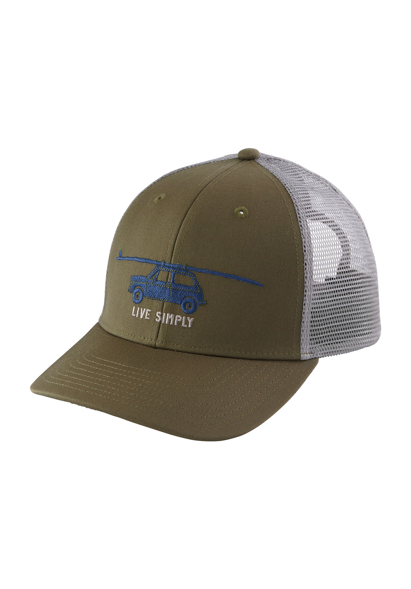 PATAGONIA Live Simply Glider - Trucker Cap - Green - Planet Sports 2bb201c1937