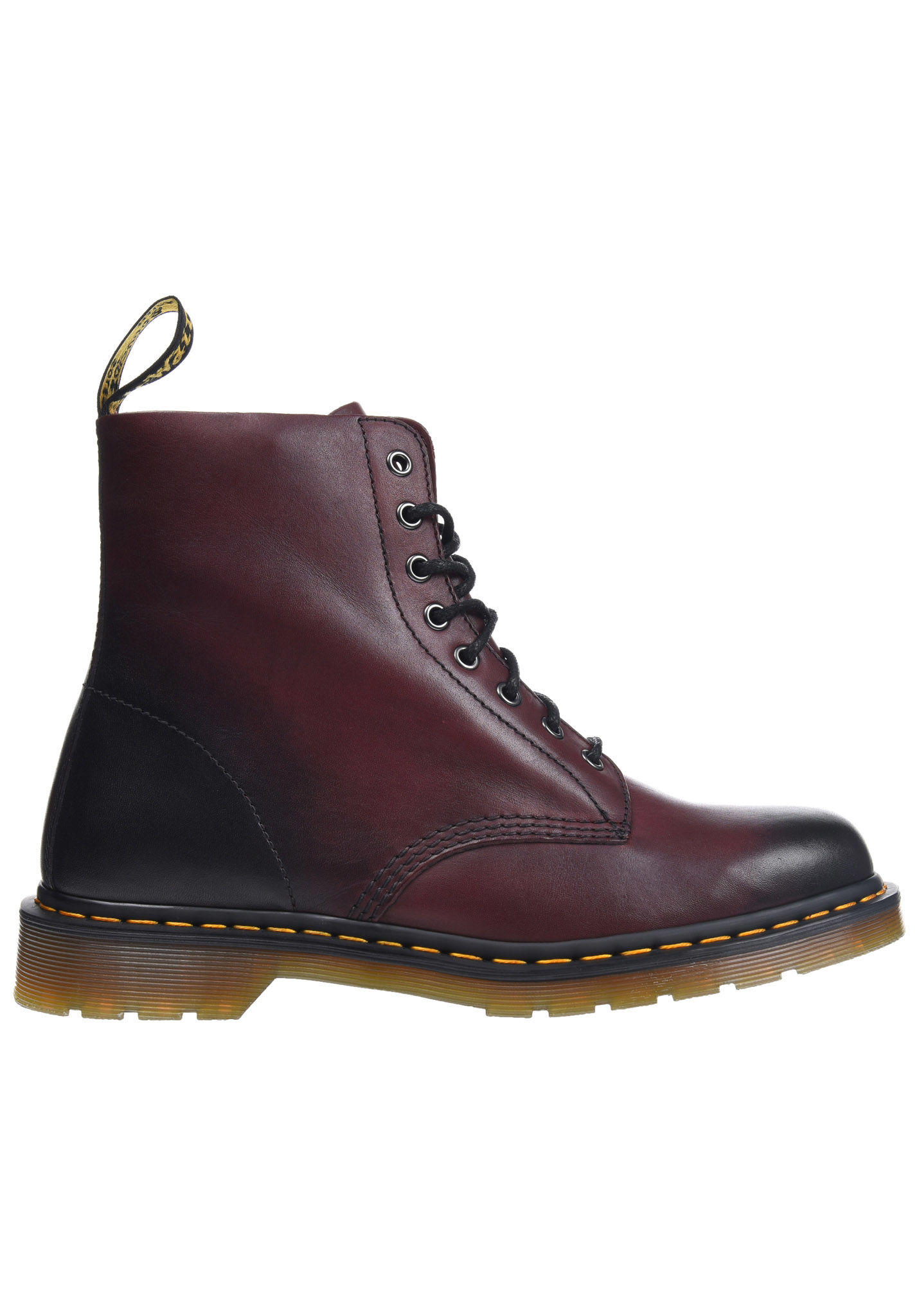43a6c1ede4cda Dr. Martens Pascal Antique Temperly - Stiefel - Rot
