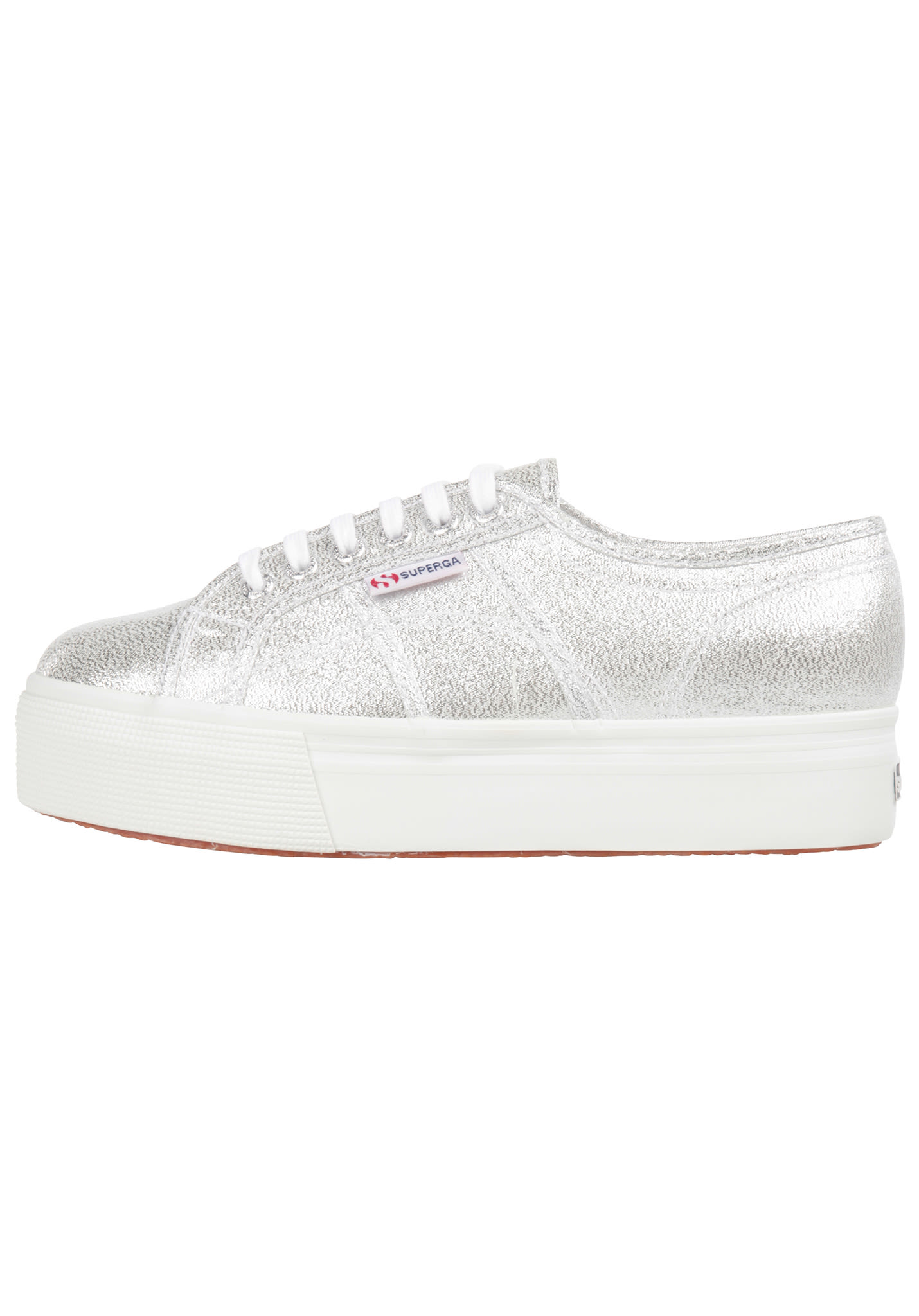 low priced 8b7b6 3f71e SUPERGA 2750 Lamew - Sneaker für Damen - Silber