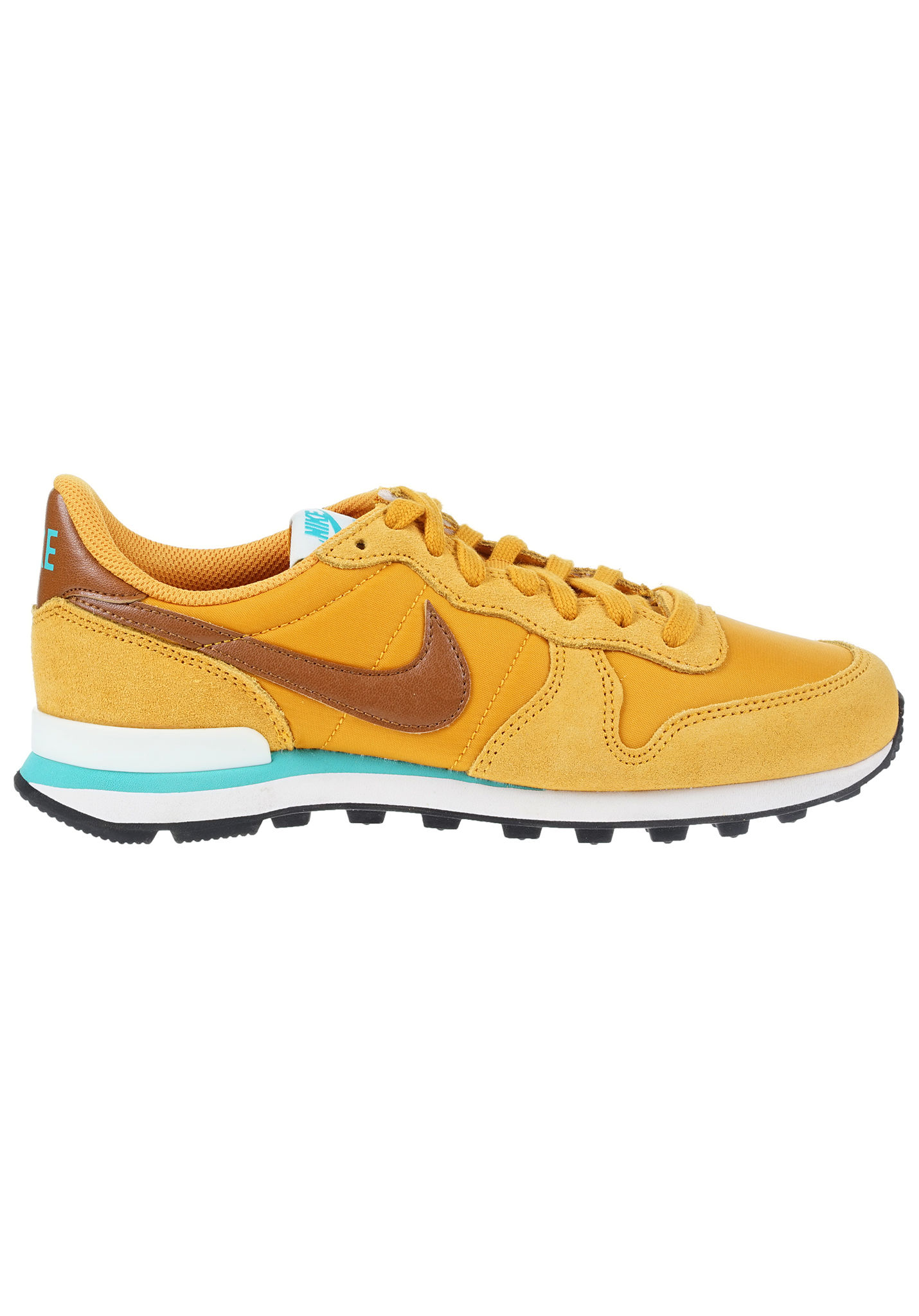 brand new 2a58a 55354 ... nike sportswear internationalist sneaker für damen gelb planet sports .