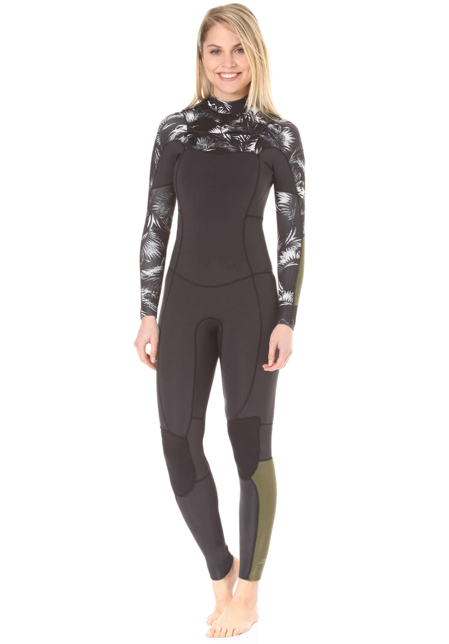 187270dd0e BILLABONG Salty Dayz 3 2mm Chest Zip - Wetsuit for Women - Black - Planet  Sports