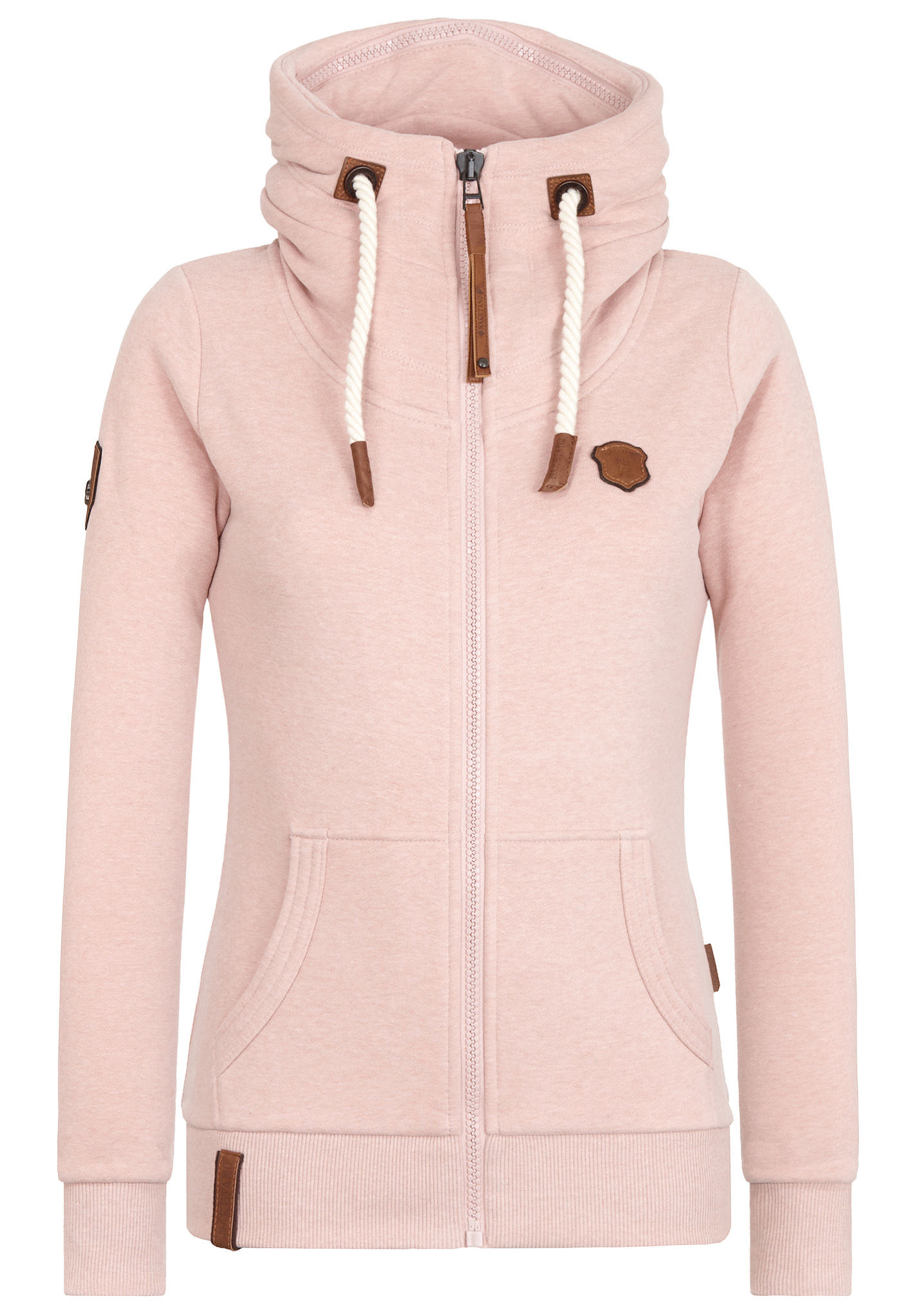 Naketano Monsterbumserin VII - Sweatjacke für Damen - Pink Naketano
