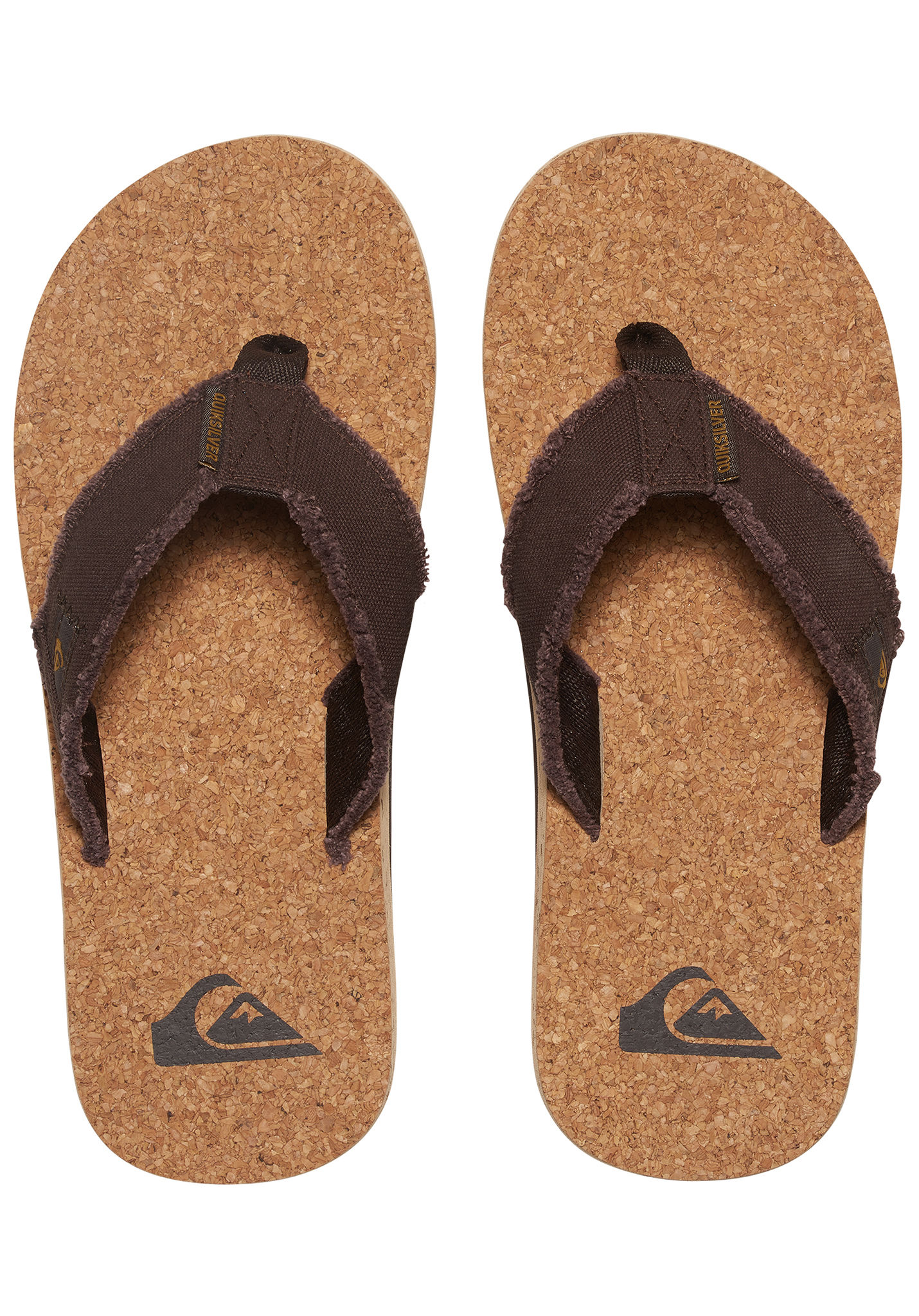 158996c7c623 Quiksilver Monkey Abyss Cork - Sandals for Men - Brown - Planet Sports