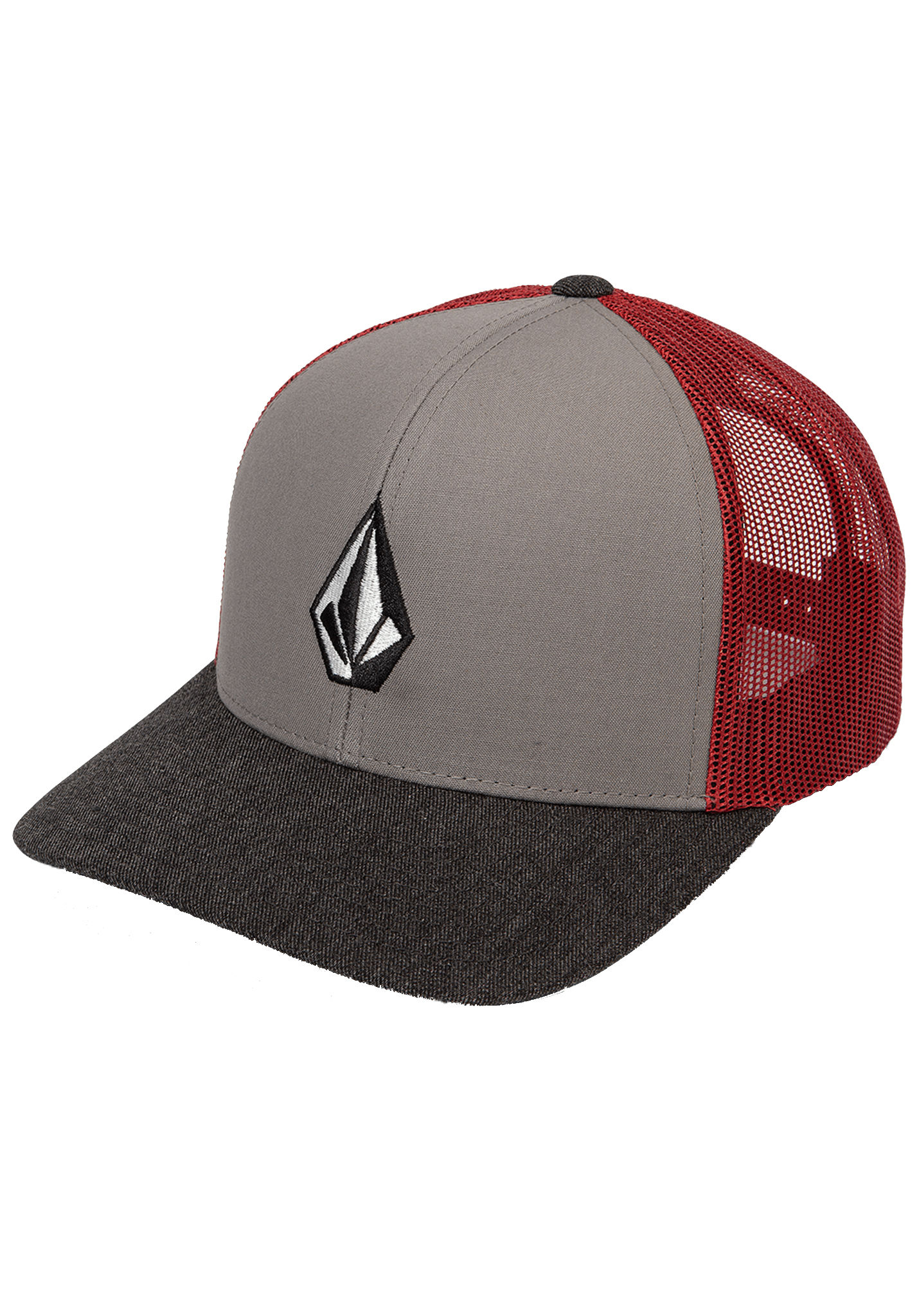 Volcom Full Stone Cheese - Trucker Cap - Grey - Planet Sports 0e421cc2e088