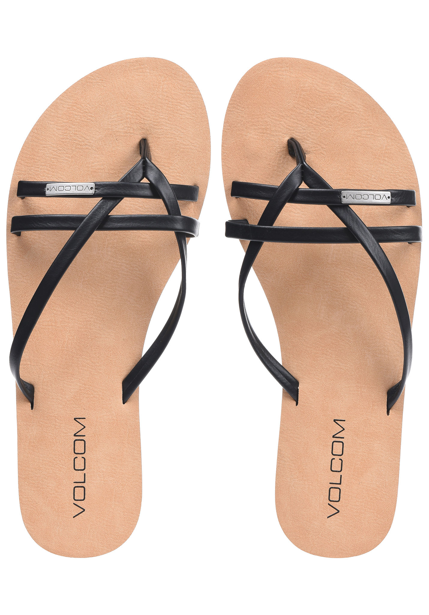 74956e0ed472a0 Volcom Lookout 2 - Sandals for Women - Black - Planet Sports