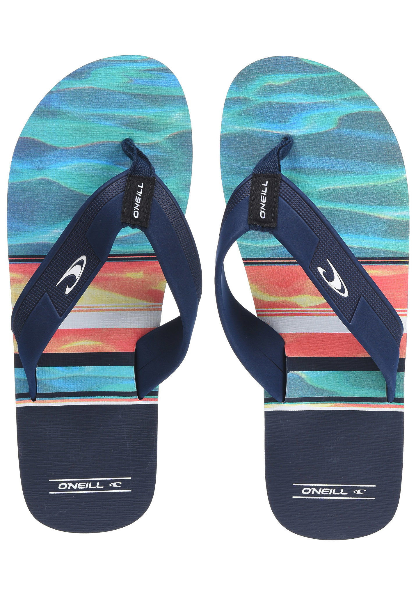 7d899739fa497 O Neill Imprint Pattern - Sandals for Men - Blue - Planet Sports